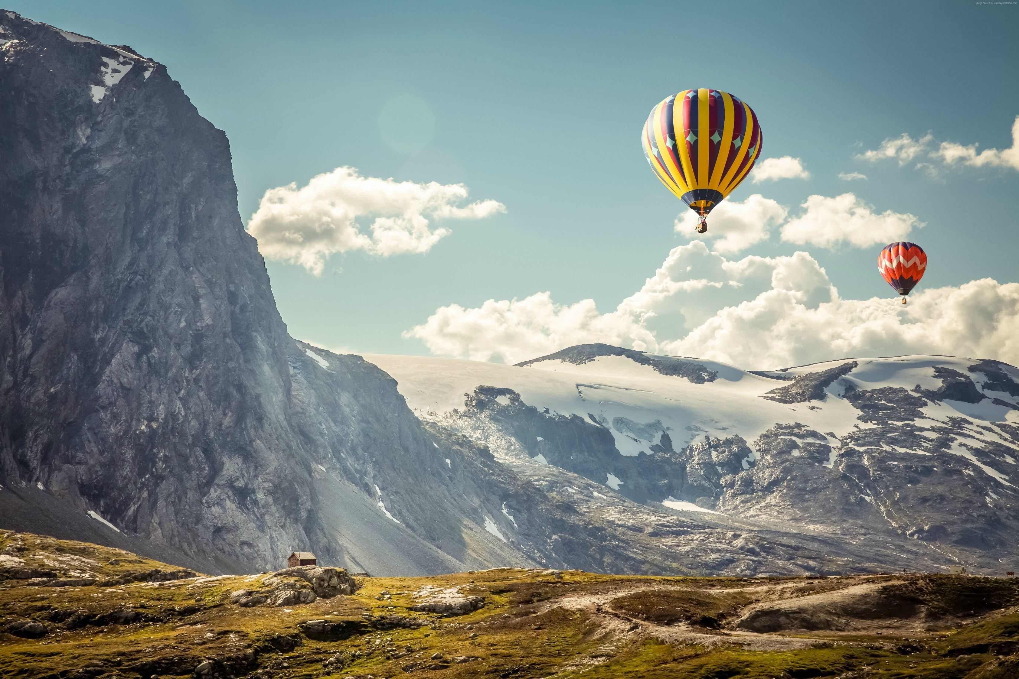 2017/2018 البالونات الهوائية balloons-in-the-moun