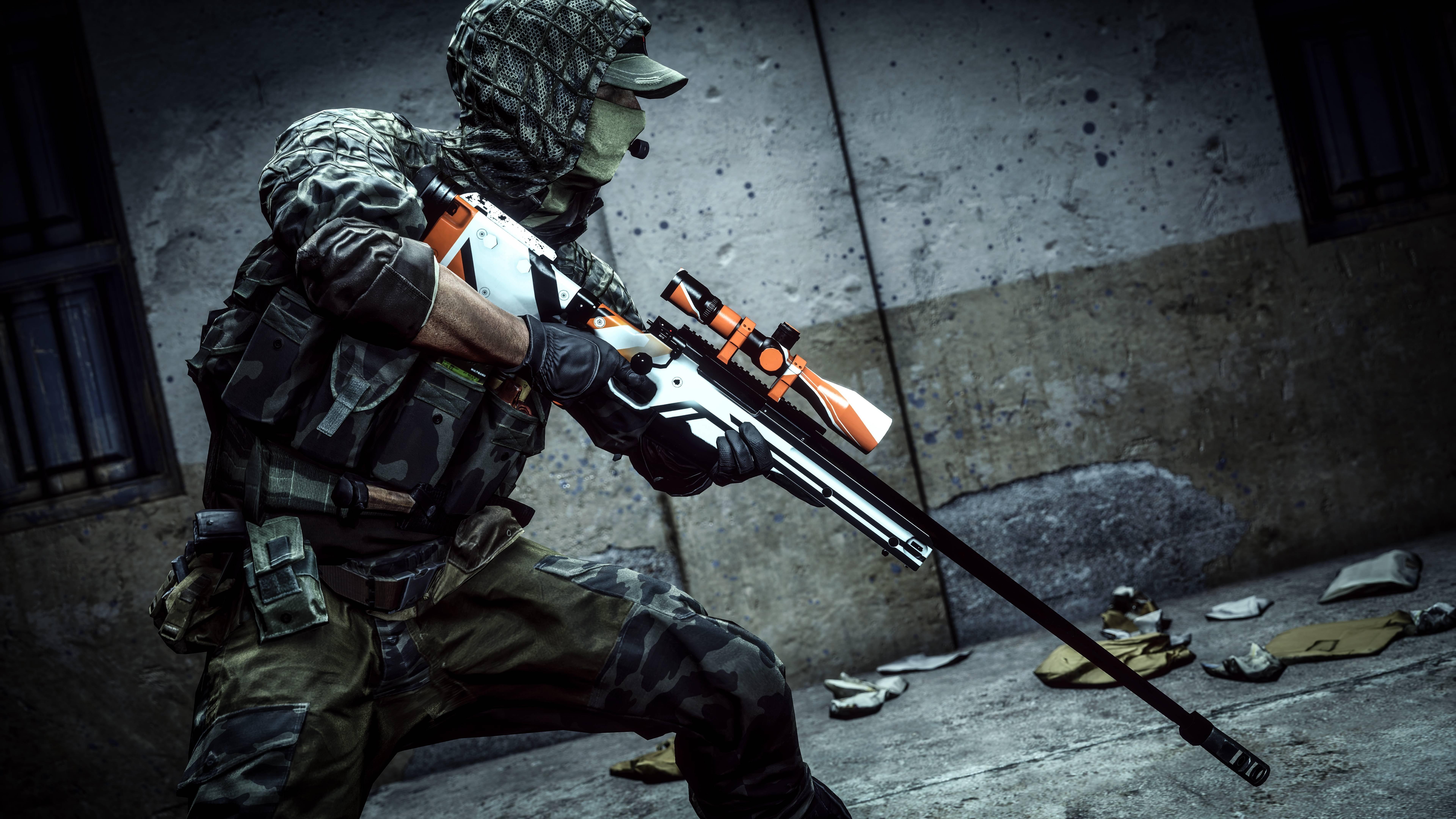 Battlefield Asiimov Sniper wallpaper