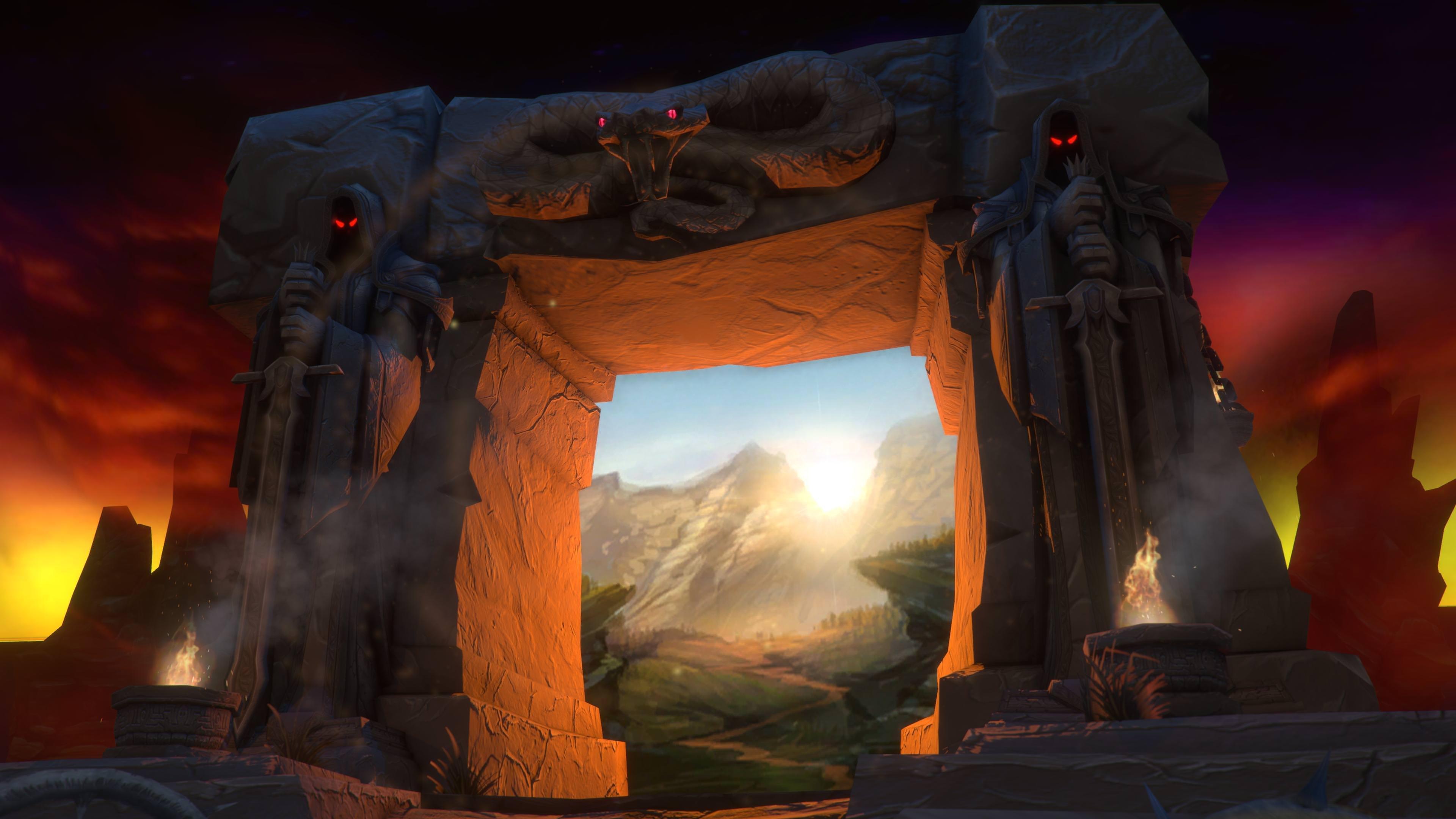 The Dark Portal 4K wallpaper