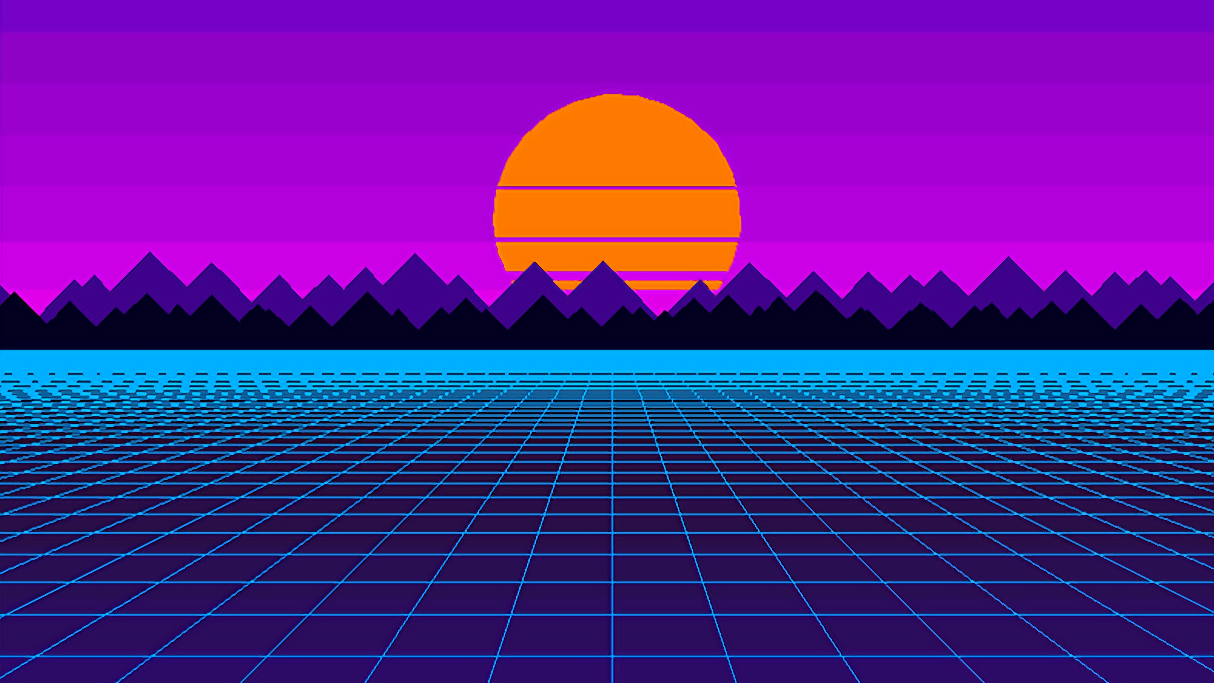 Outrun Wallpapers 4k For Your Phone And Desktop Screen