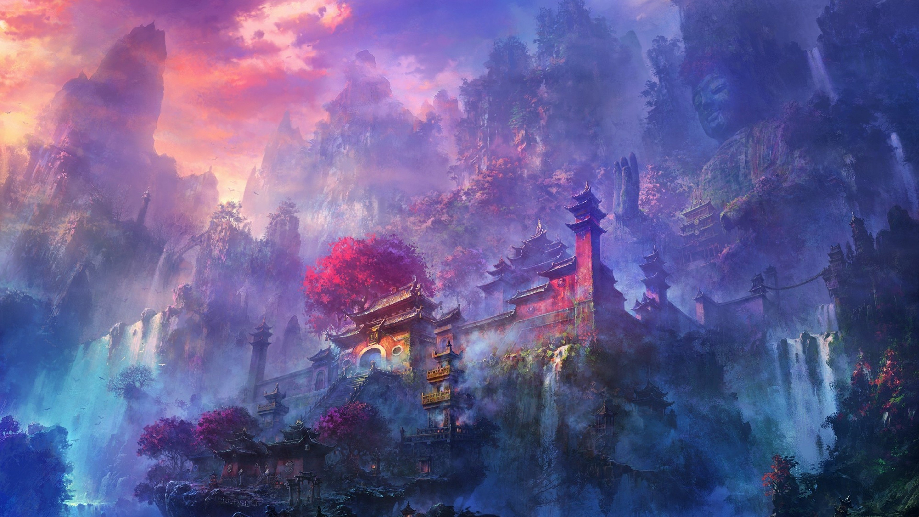 Temple wallpapers 4k for your phone and desktop screen - Japanese wallpaper phone ...