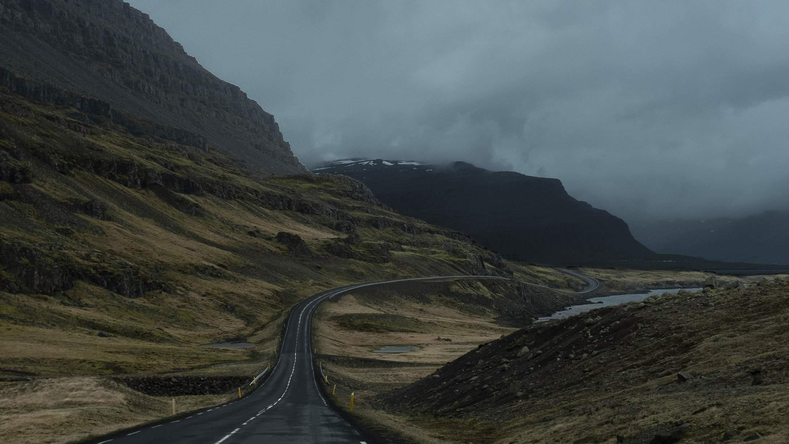 Iceland S Ring Road Wallpapers: Moody Wallpapers 4k For Your Phone And Desktop Screen