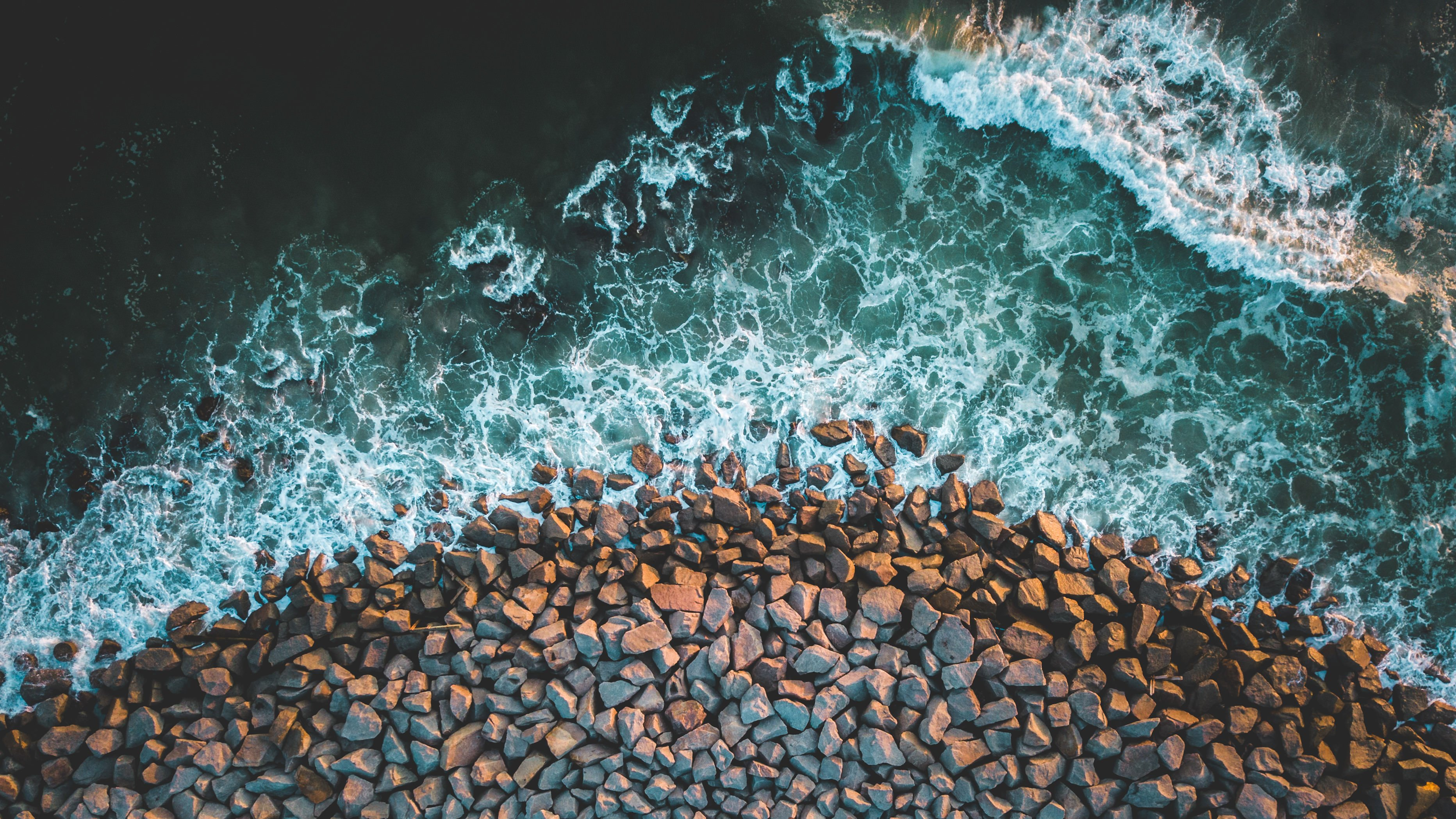 Wallpaper Rocky Beach Desktop Wallpapers: Rocky Wallpapers 4k For Your Phone And Desktop Screen