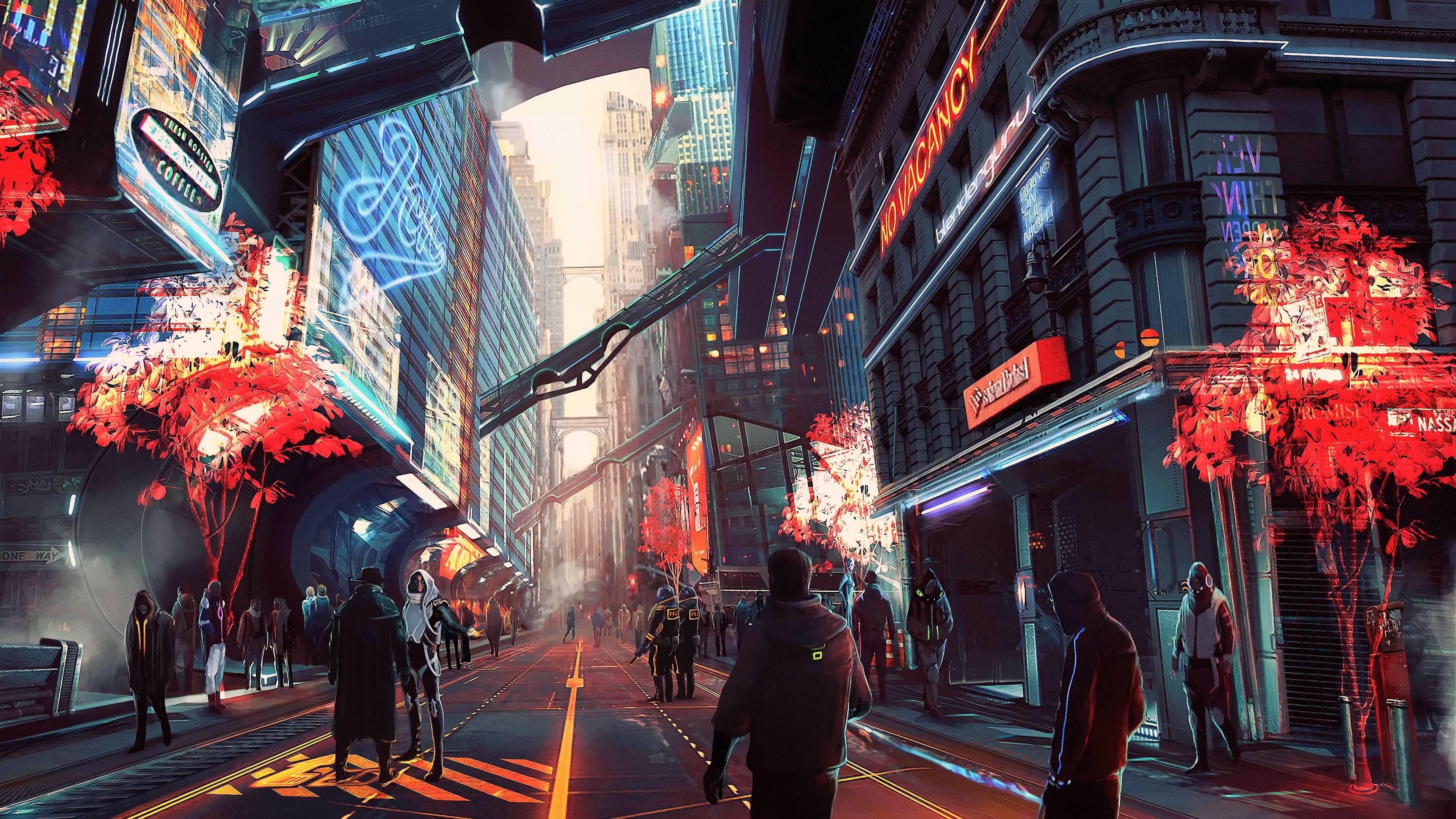 Cyberpunk 2077 City Wallpaper: Cyberpunk Wallpapers 4k For Your Phone And Desktop Screen