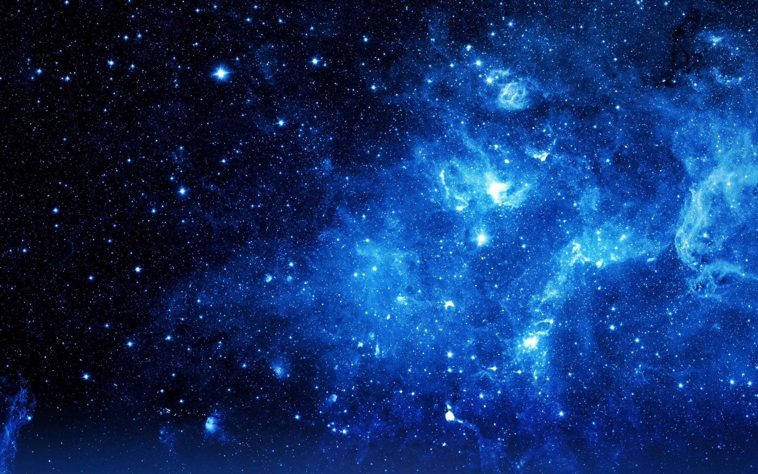 gallery for hd blue galaxy wallpaper