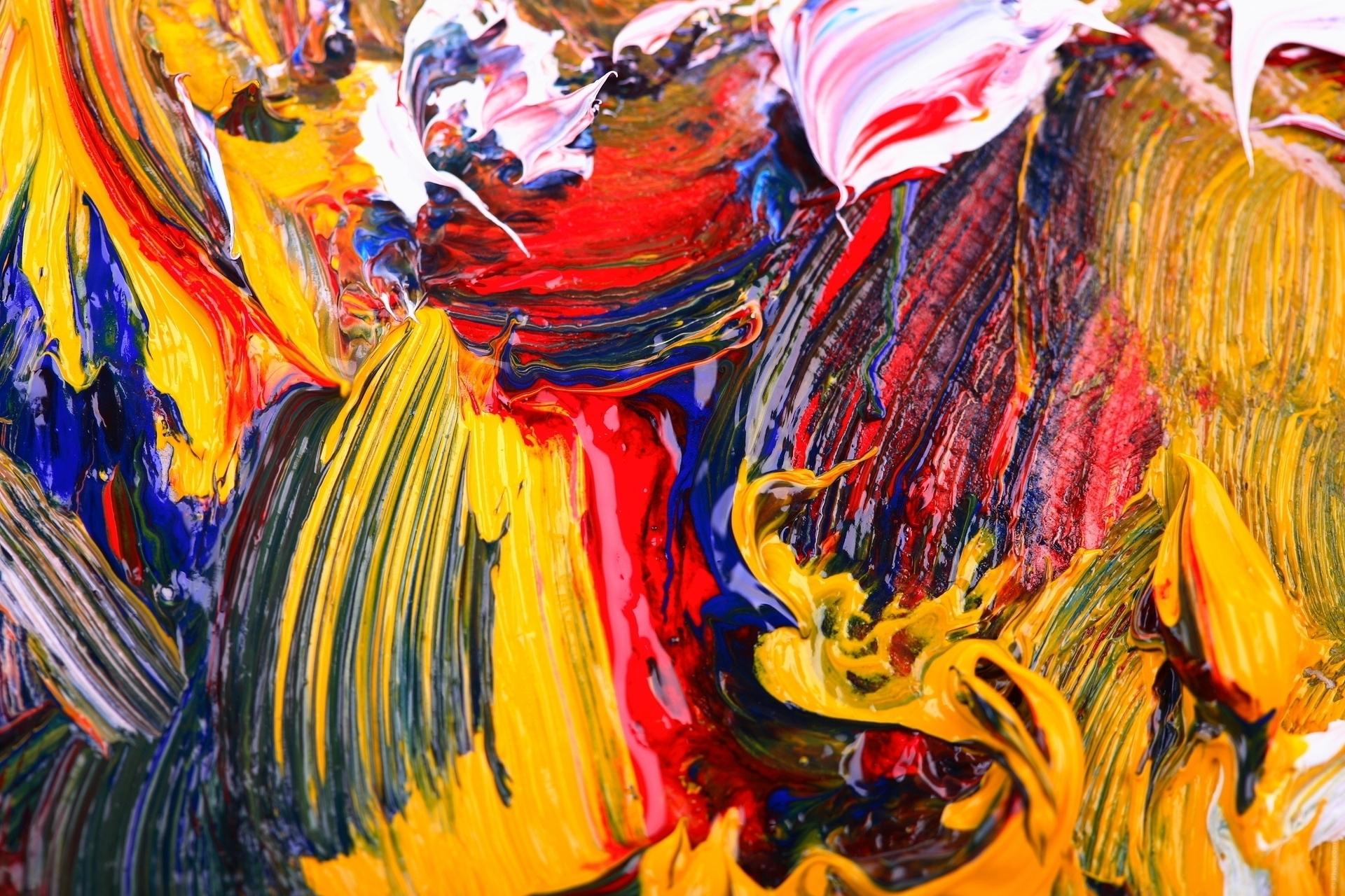 1000+ Wallpaper Abstract Painting HD Paling Keren