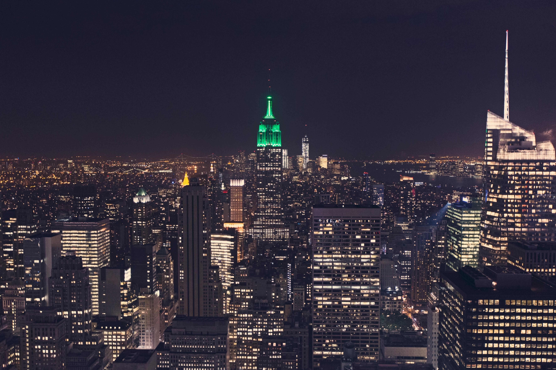 City Night View 4k Wallpaper