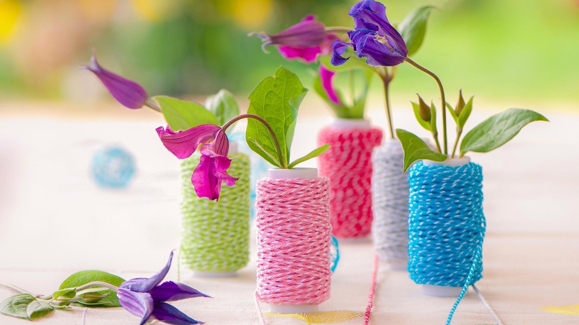 Colorful flowers 1518 hd wallpaper - Bricolage de printemps ...