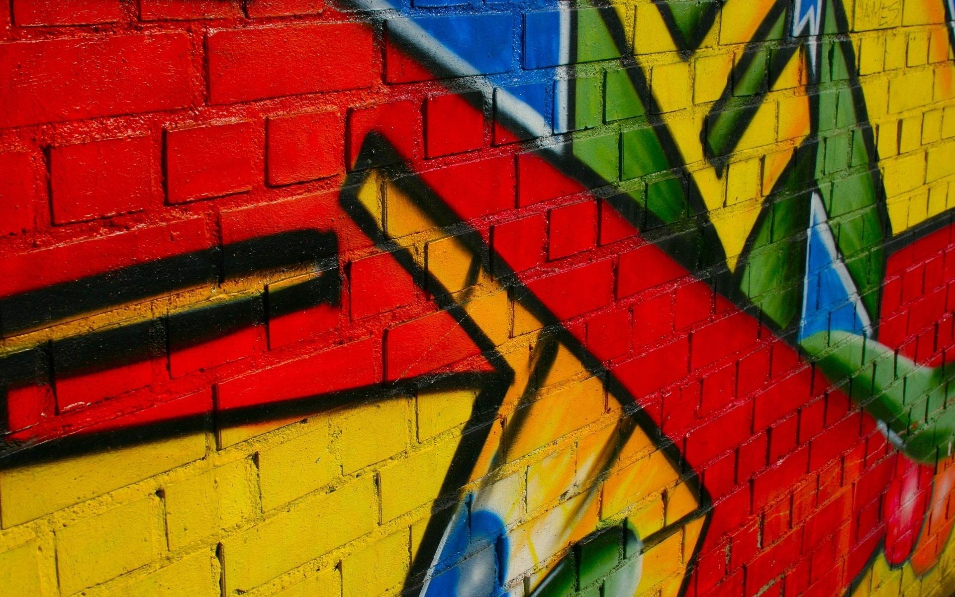 Abstract Wall Painting Hd Wallpaper