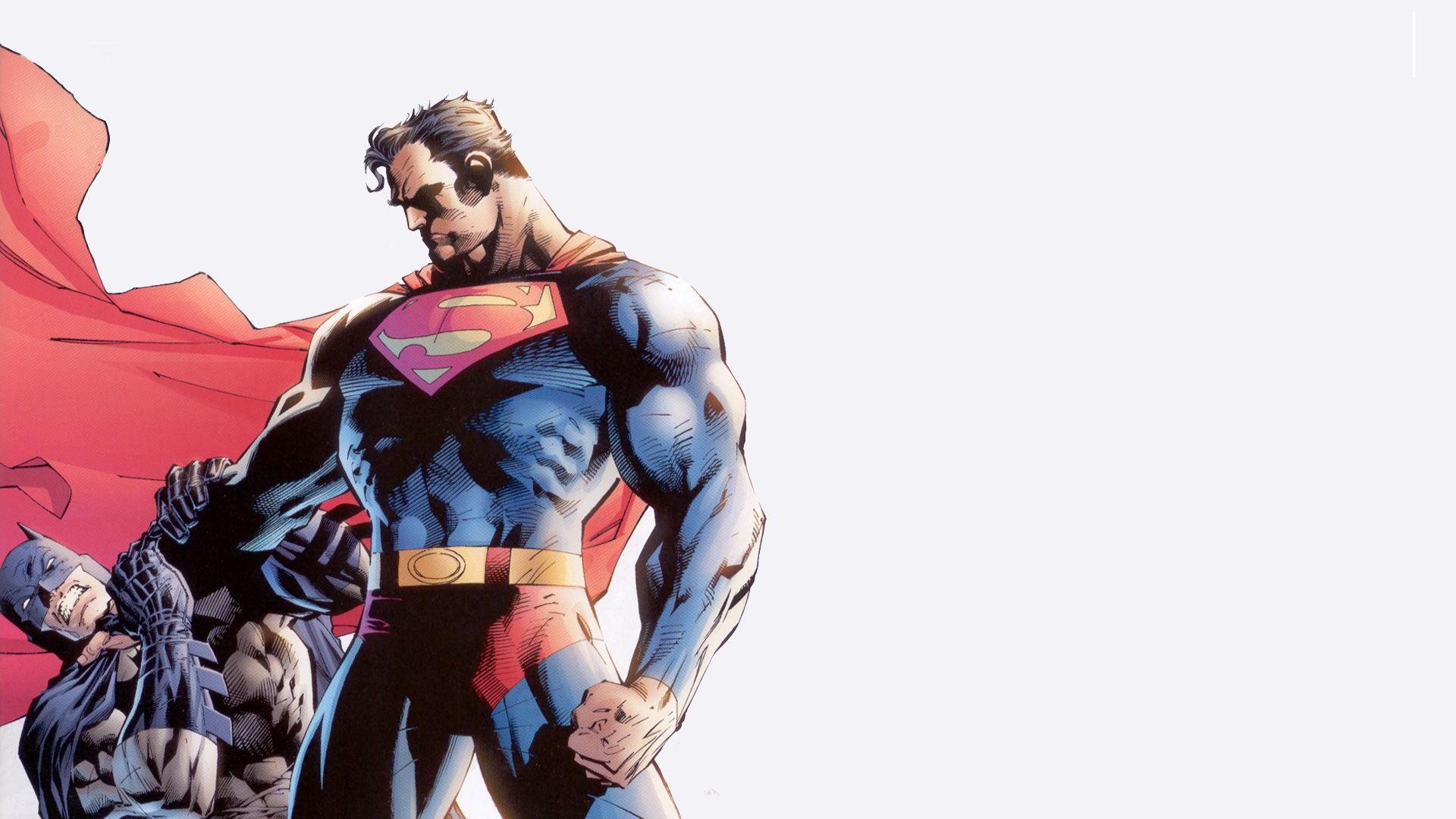 Batman Dc Comics Superman Jim Lee Case Hd Wallpaper