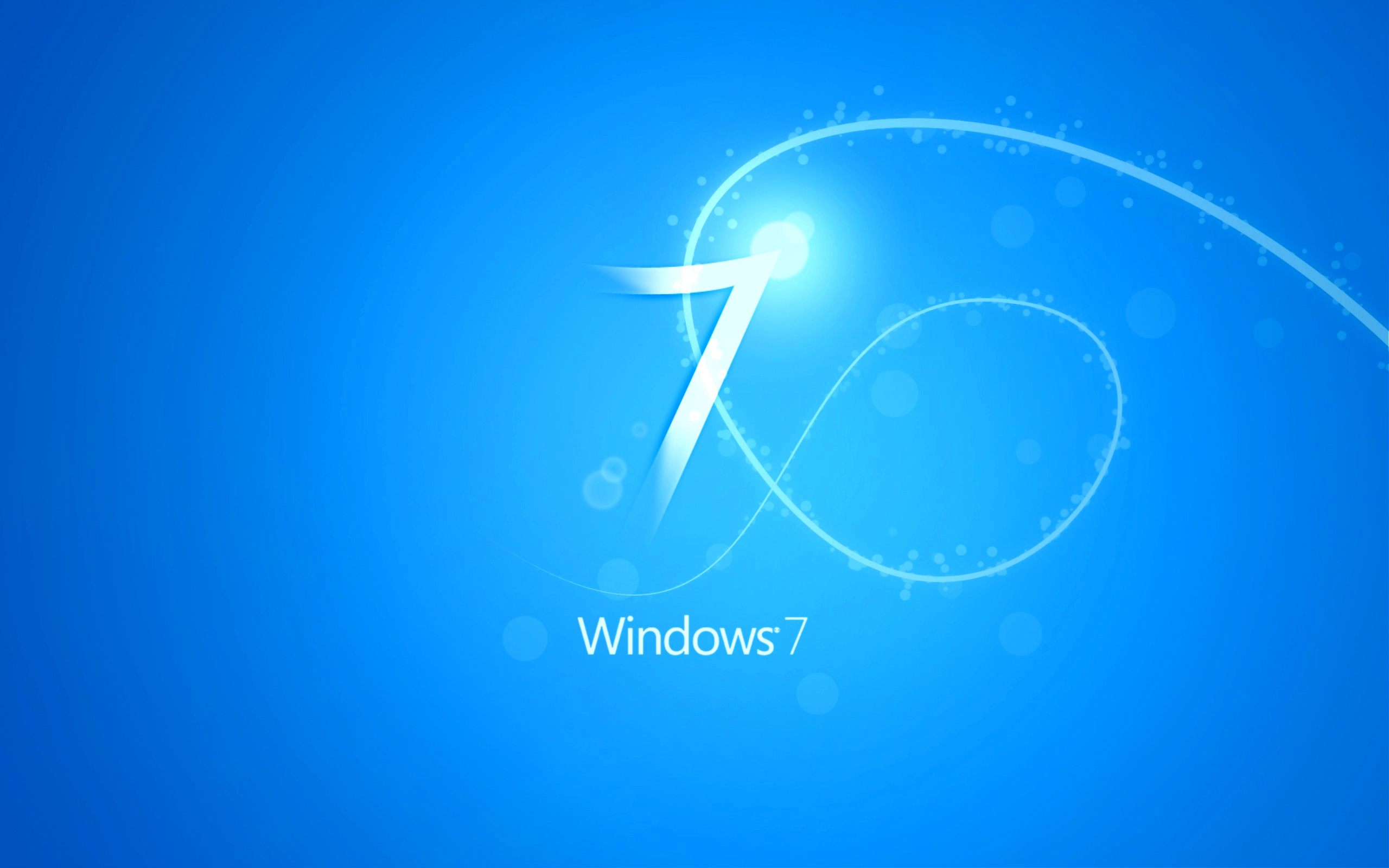 blue windows 7 hd wallpaper