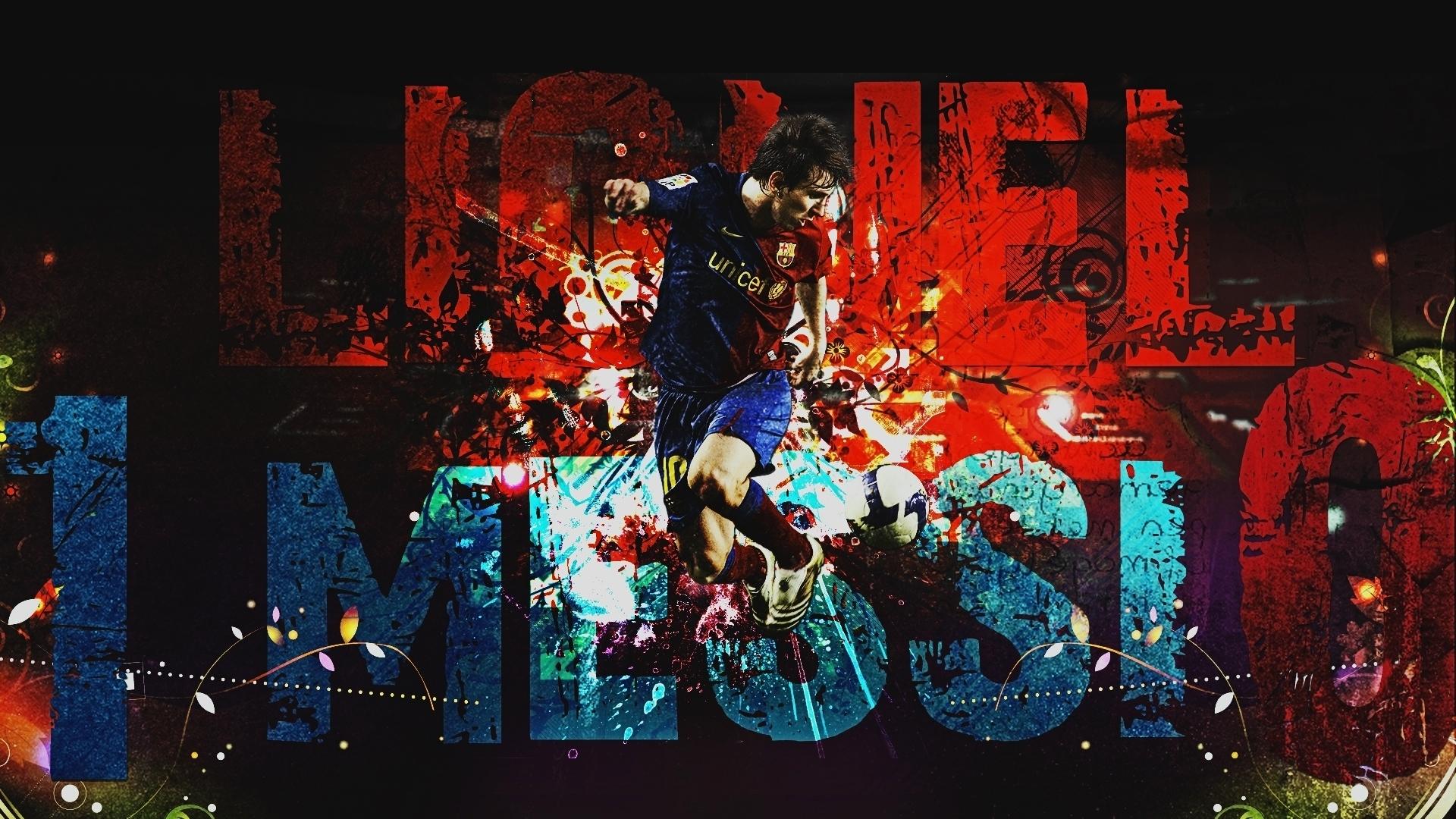 Fondos De Pantalla Camp Nou España El Fc Barcelona: Barcelona Lionel Messi HD Wallpaper