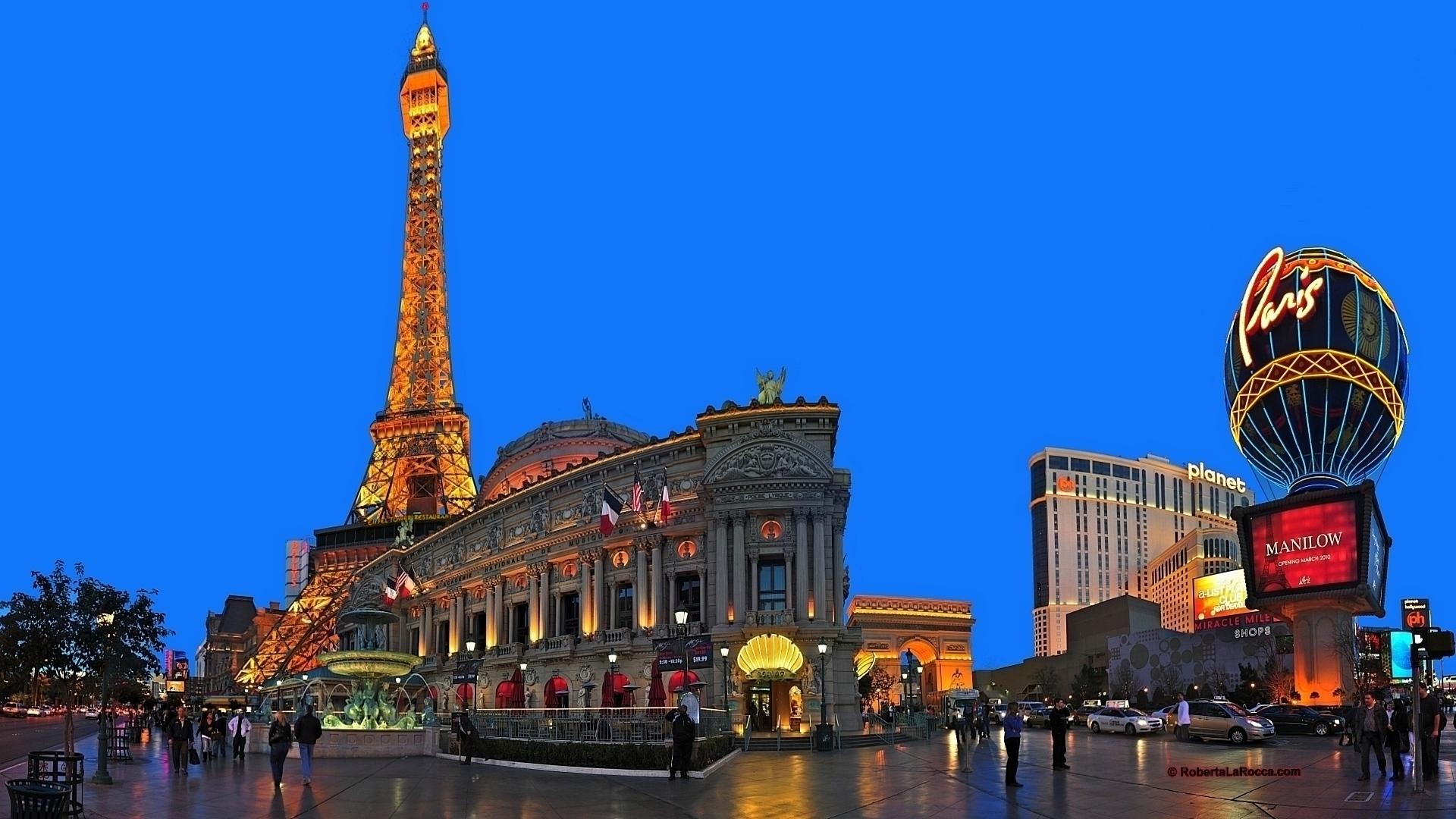 Las Vegas At Night Hd Hd Wallpaper