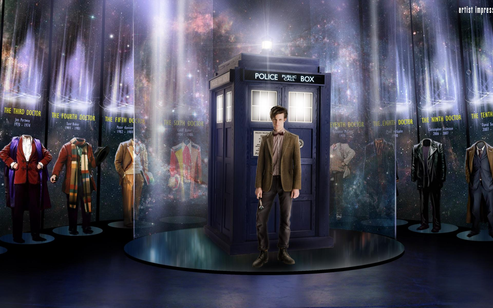 Doctor Who Matt Smith Hd Wallpaper