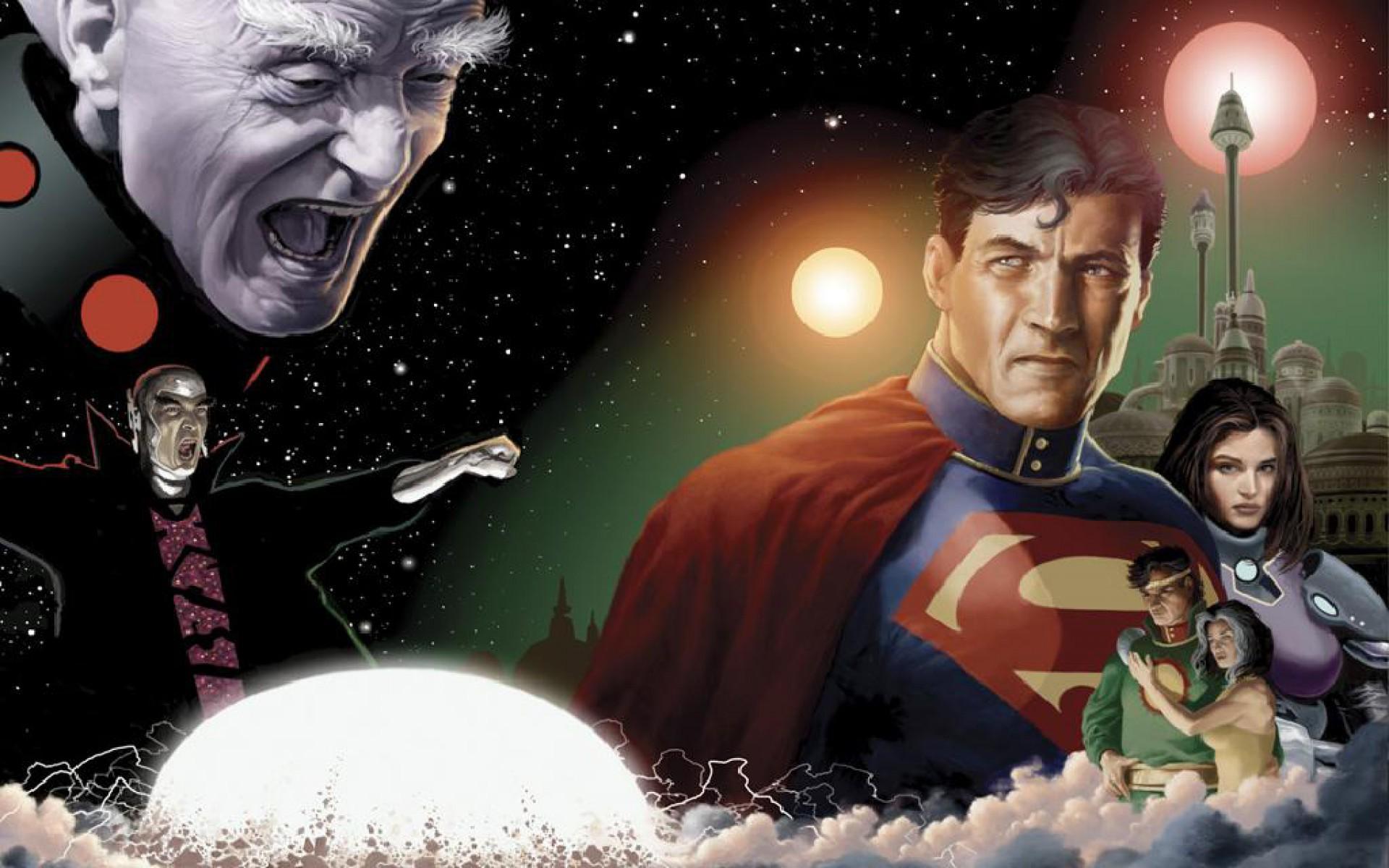 superman in krypton