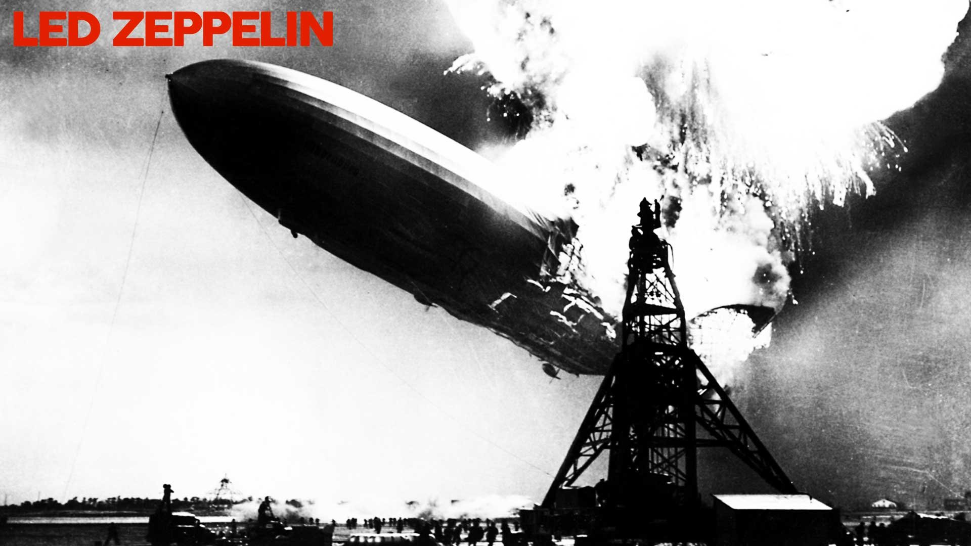 Led Zeppelin Self Titled Album Cover Hd Wallpaper