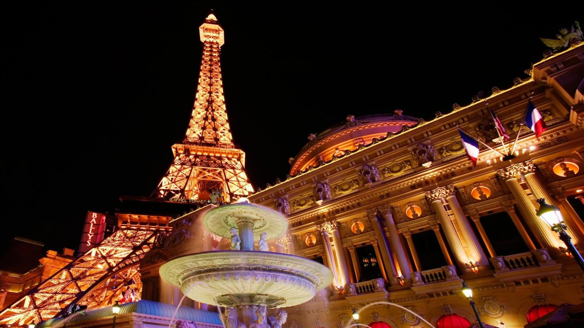 Hotel Las Vegas Hd Wallpaper