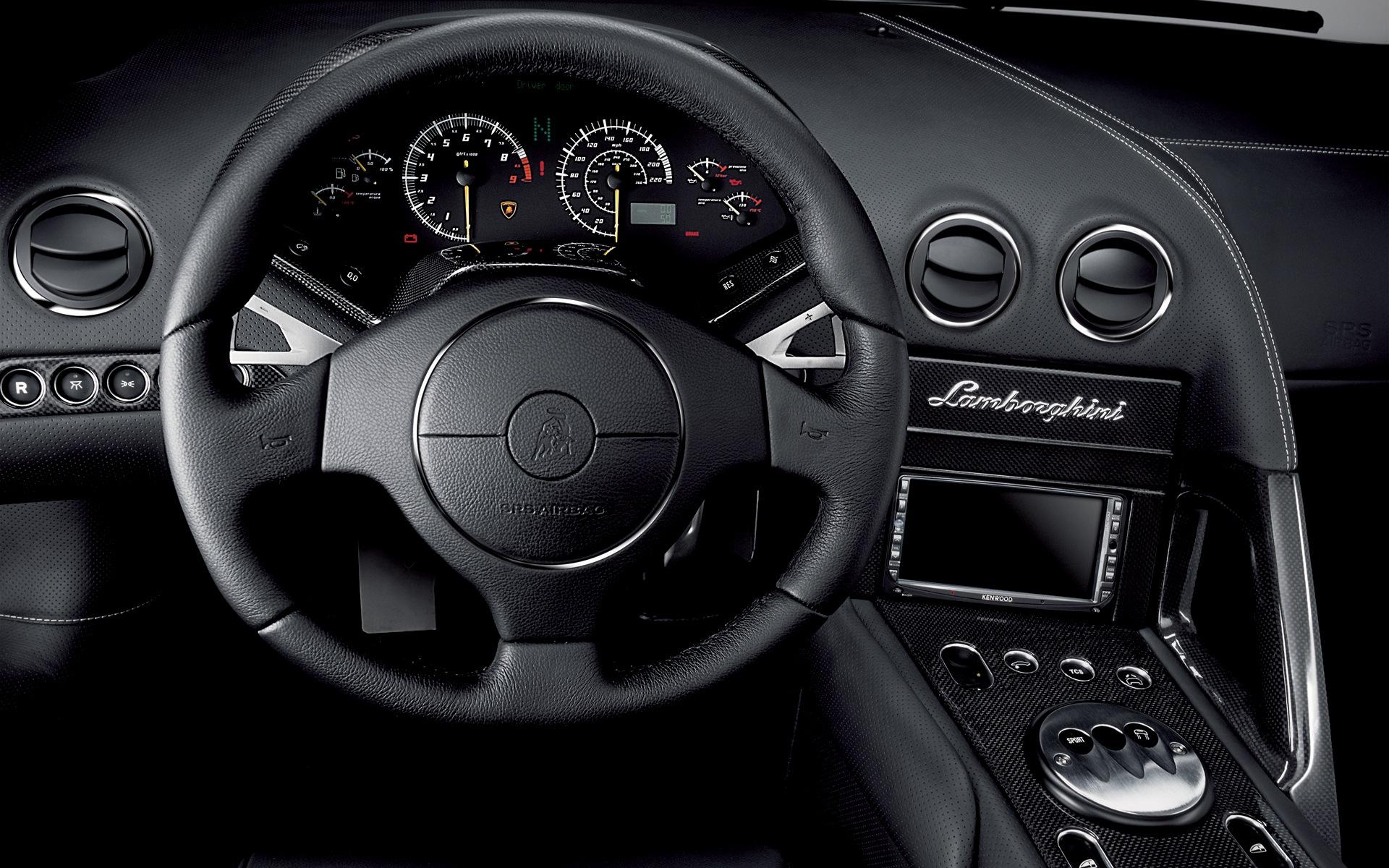 Lamborghini Murcielago Lp640 Roadster Interior Hd Wallpaper
