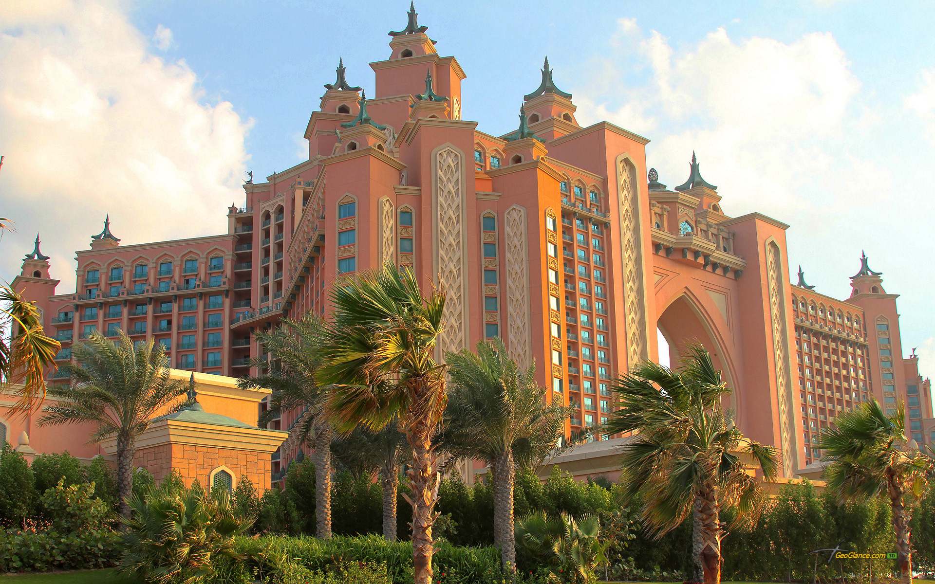 2 atlantis hotel dubai hd wallpaper