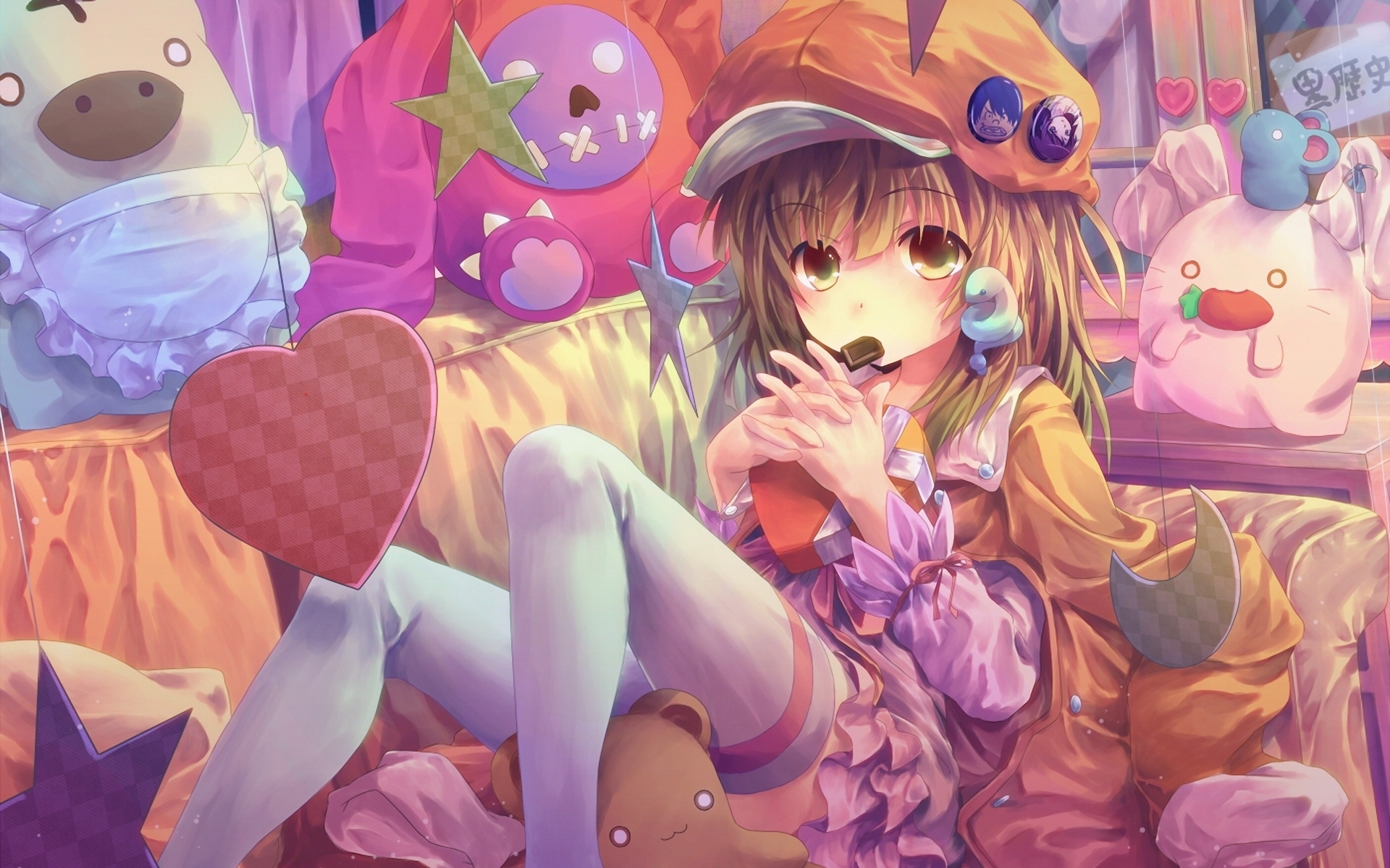 Cute Anime Girl 5139 Hd Wallpaper