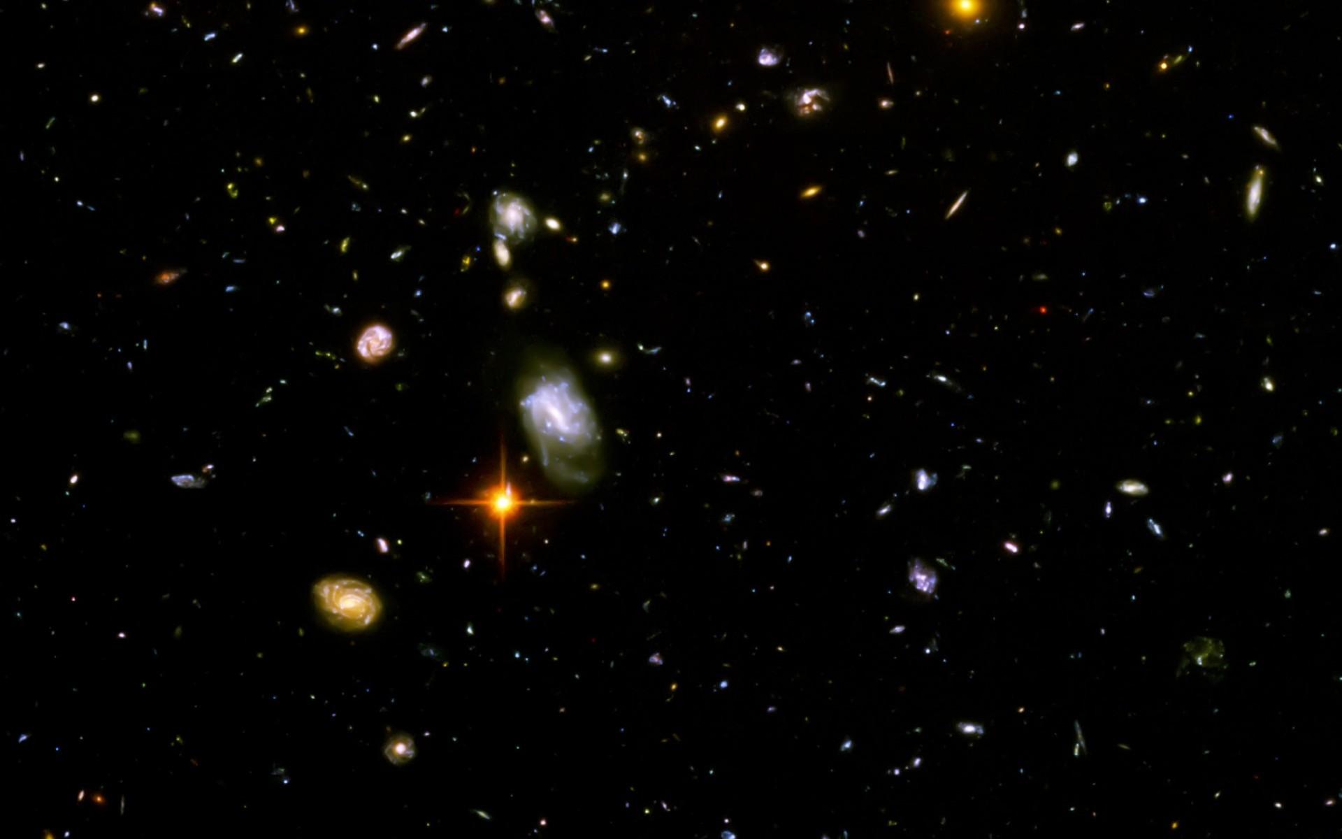 Hubble Deep Field Hd Wallpaper