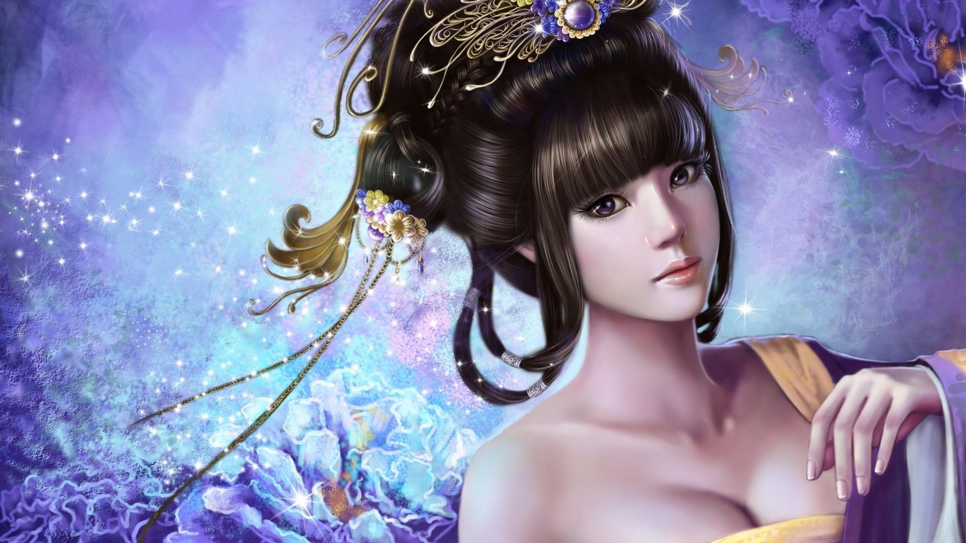 anime china girl hd wallpaper
