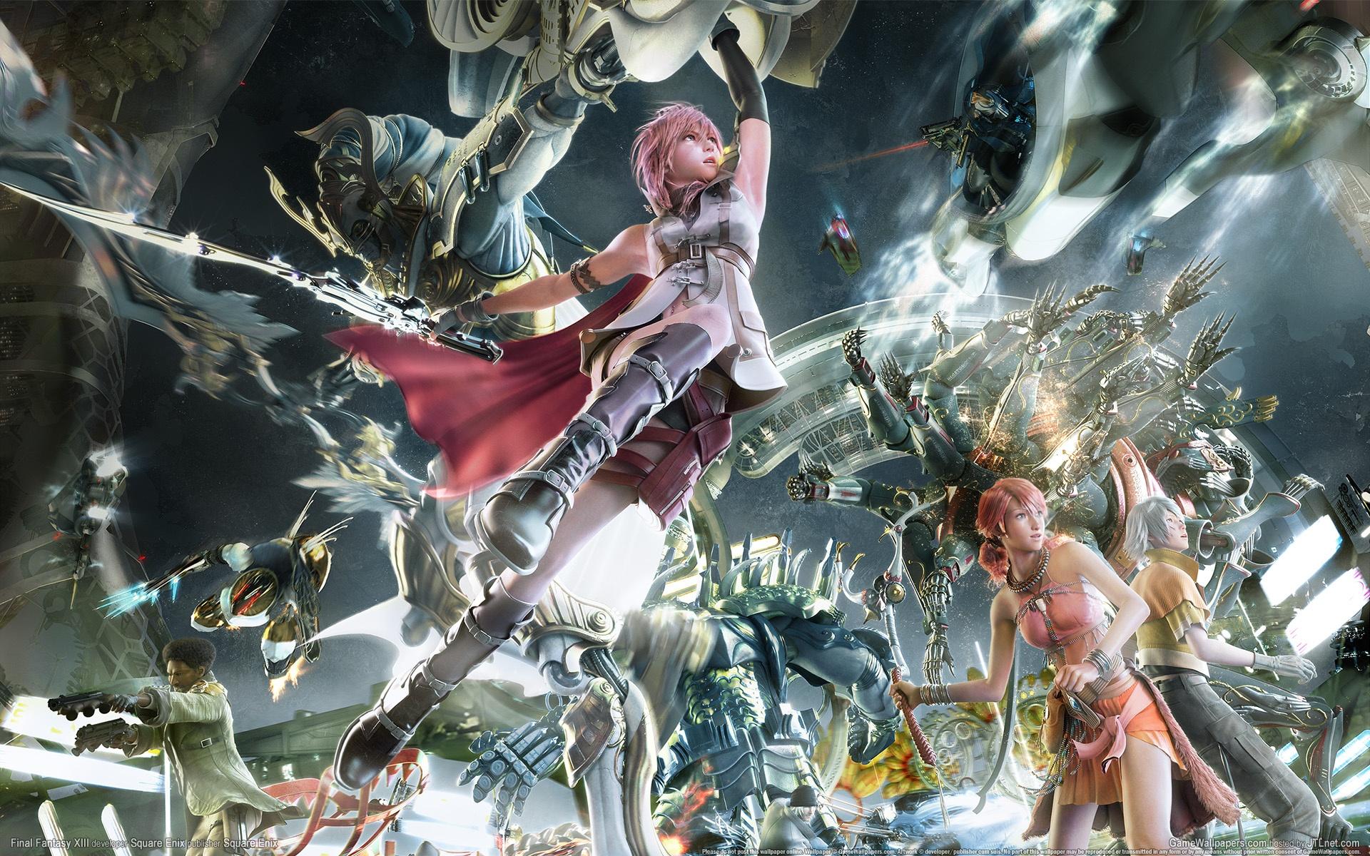 Final Fantasy Xiii 2 Game 3 Hd Wallpaper