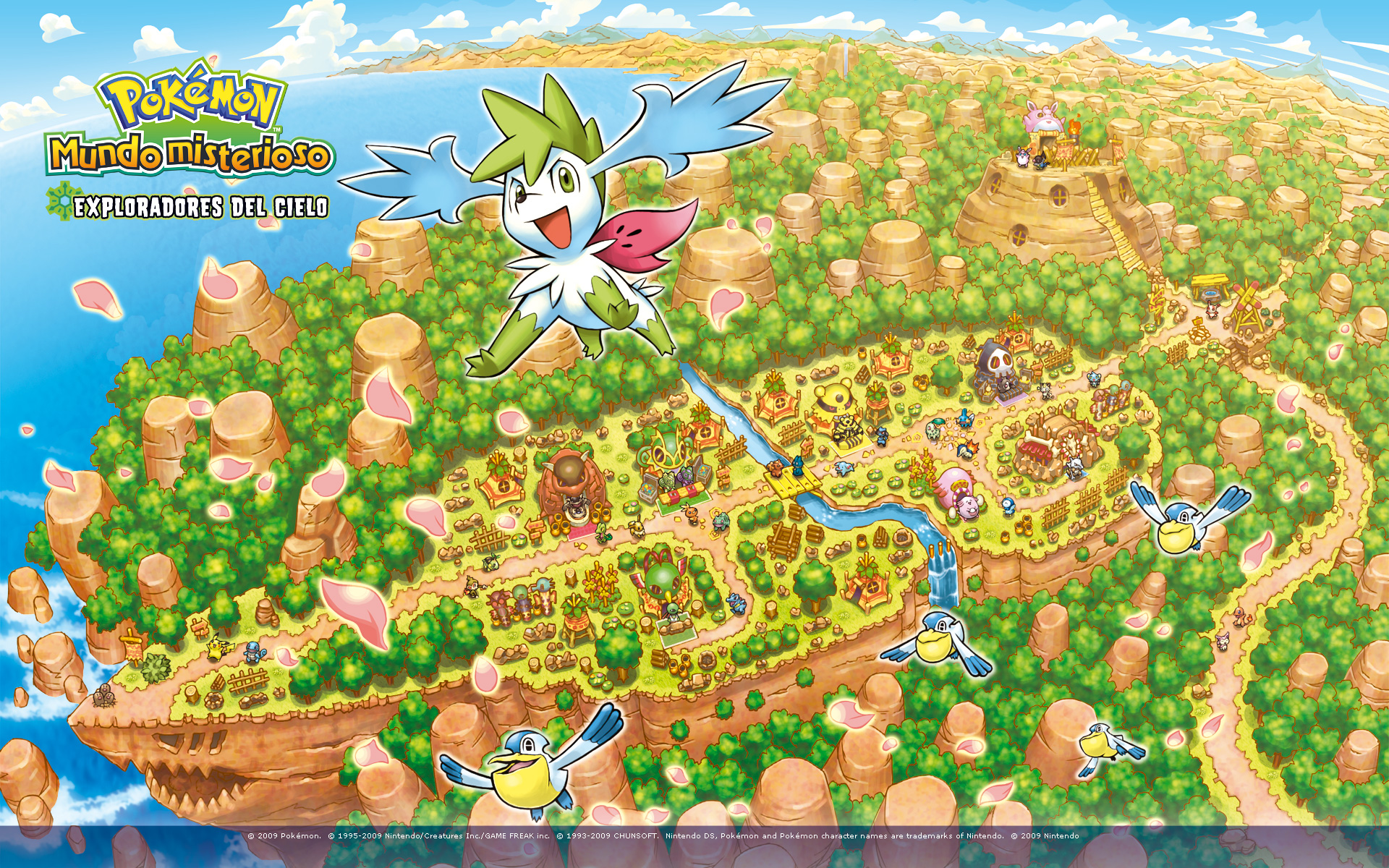 Pokemon Mystery Dungeon Explorers Of Sky Hd Wallpaper