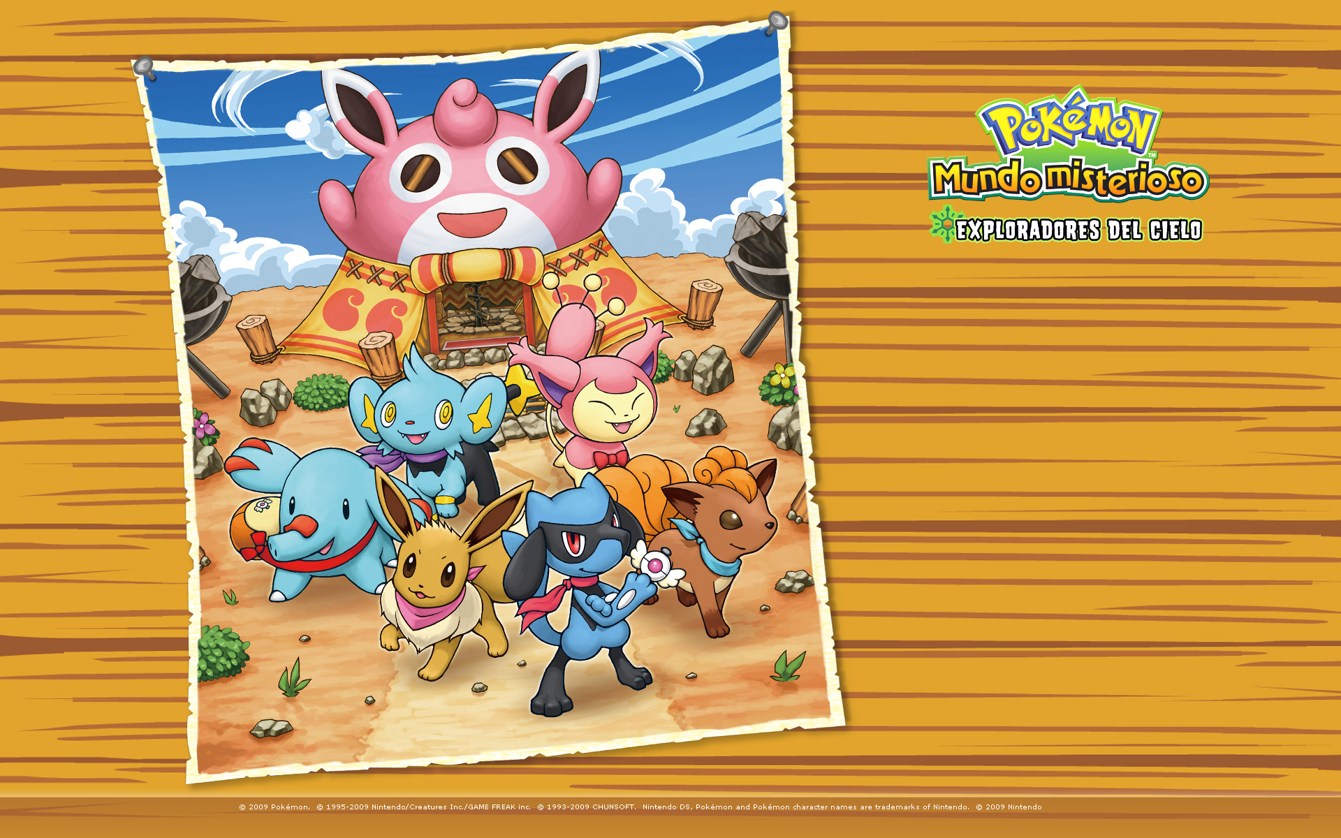 Pokemon Mystery Dungeon Explorers Of The Sky Hd Wallpaper