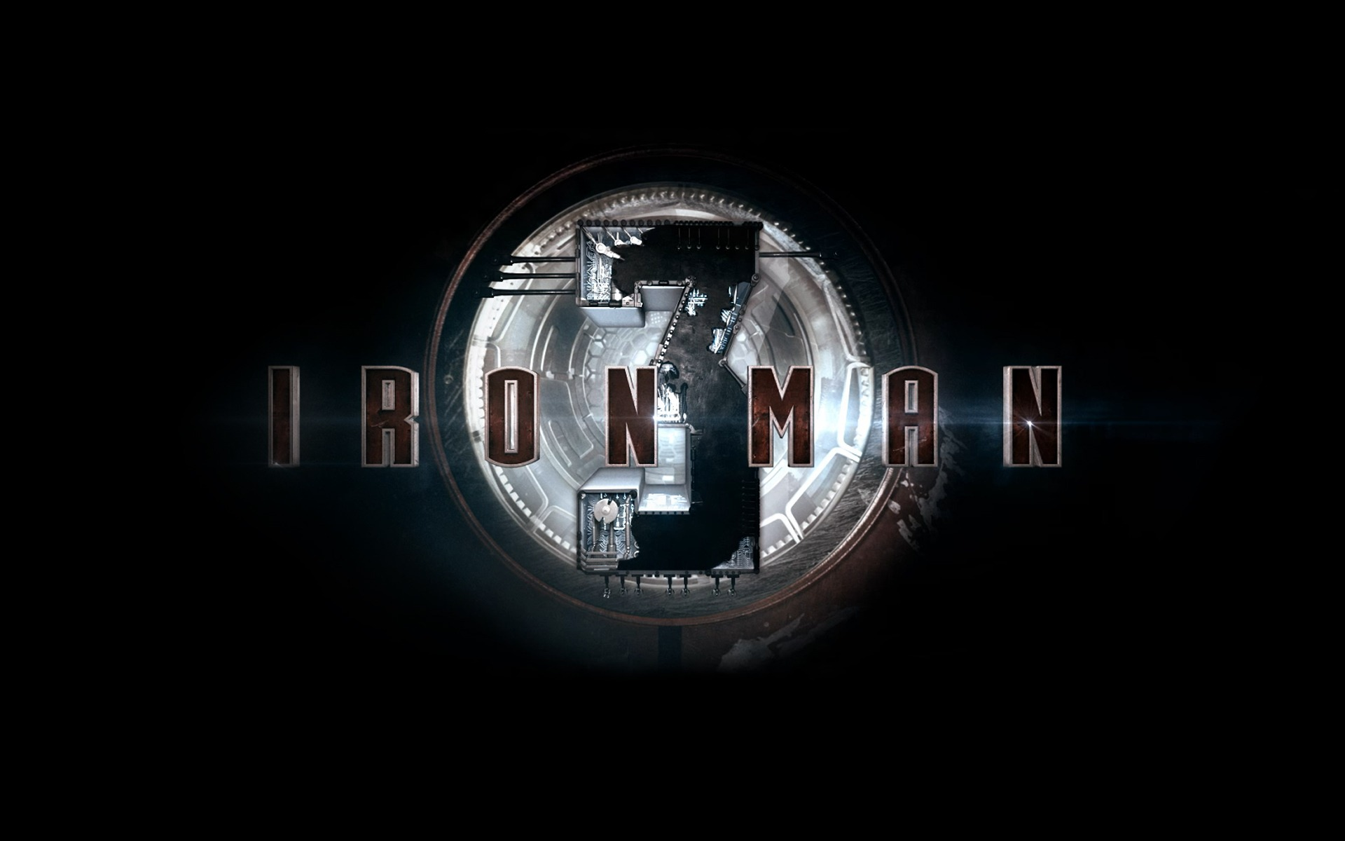 Iron Man 3 Movie Hd Desktop Wallpaper