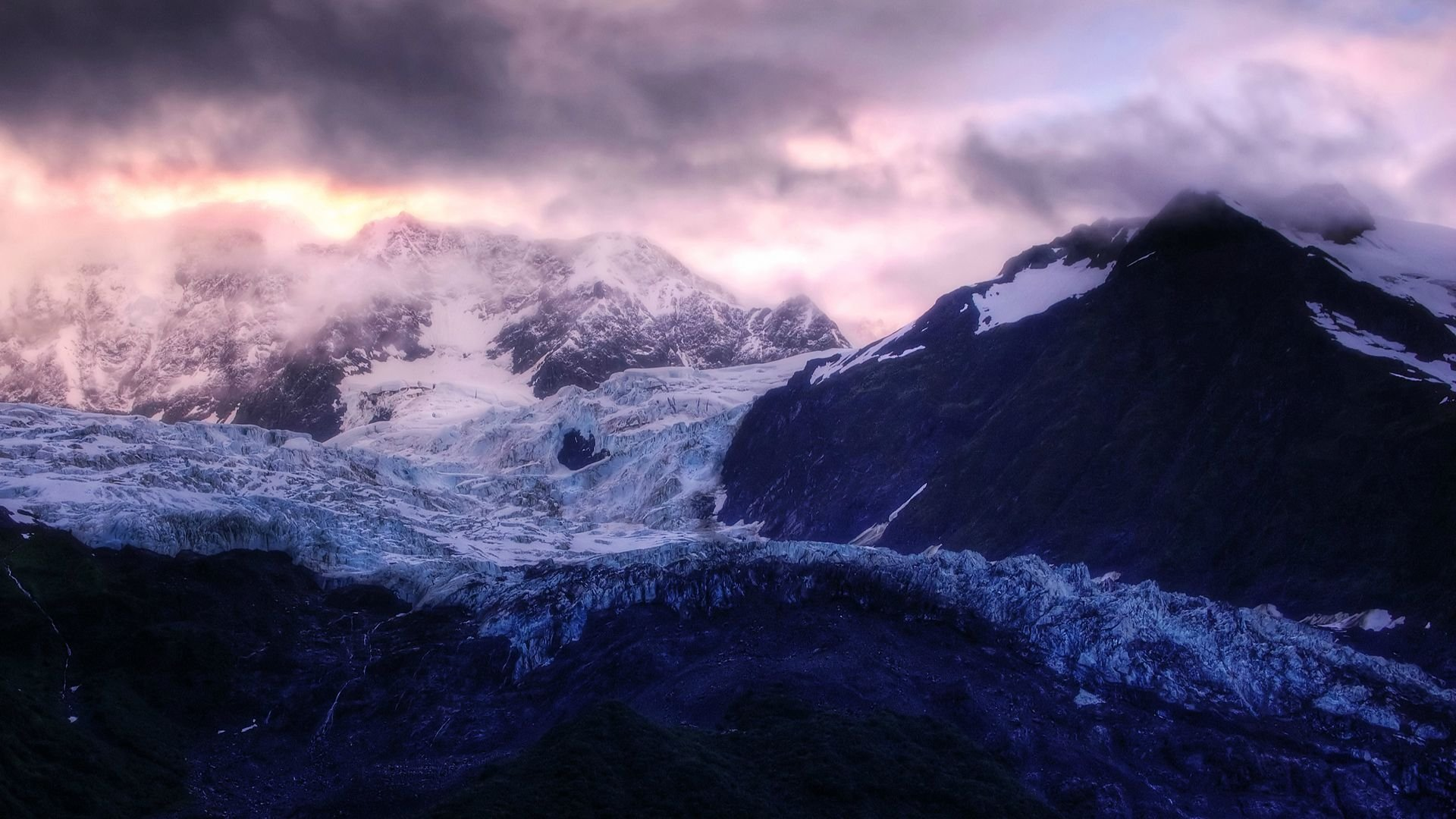 cloudy mountain phone wallpaper - photo #35