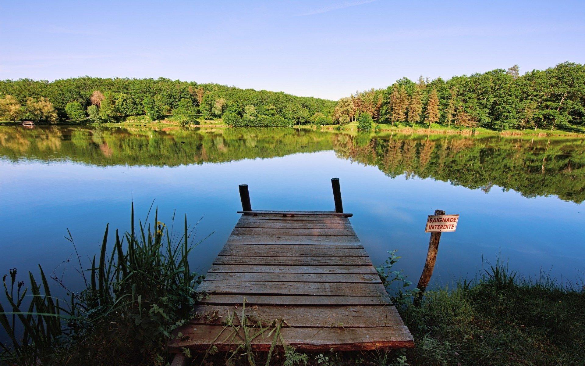 Beautiful Lake View Hd Wallpaper