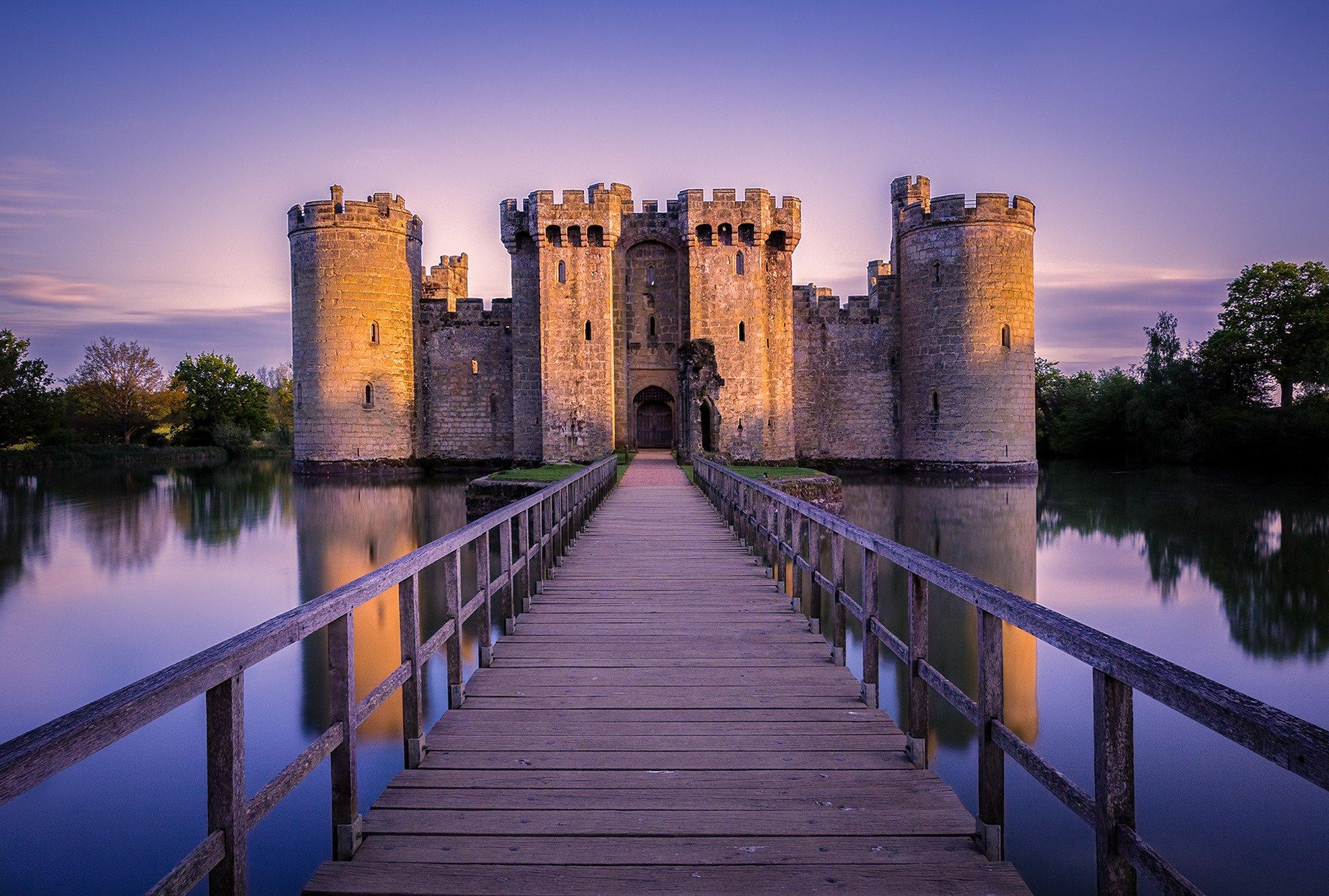 Bodiam Castle England Hd Wallpaper