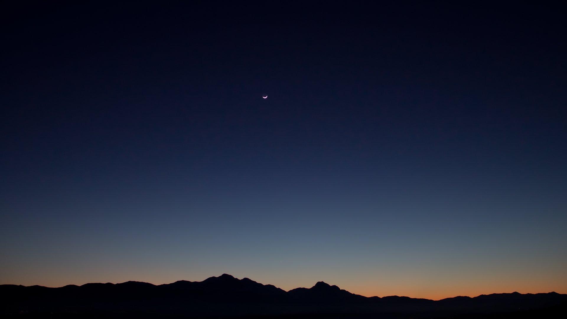 Clear Night Sky Hd Wallpaper