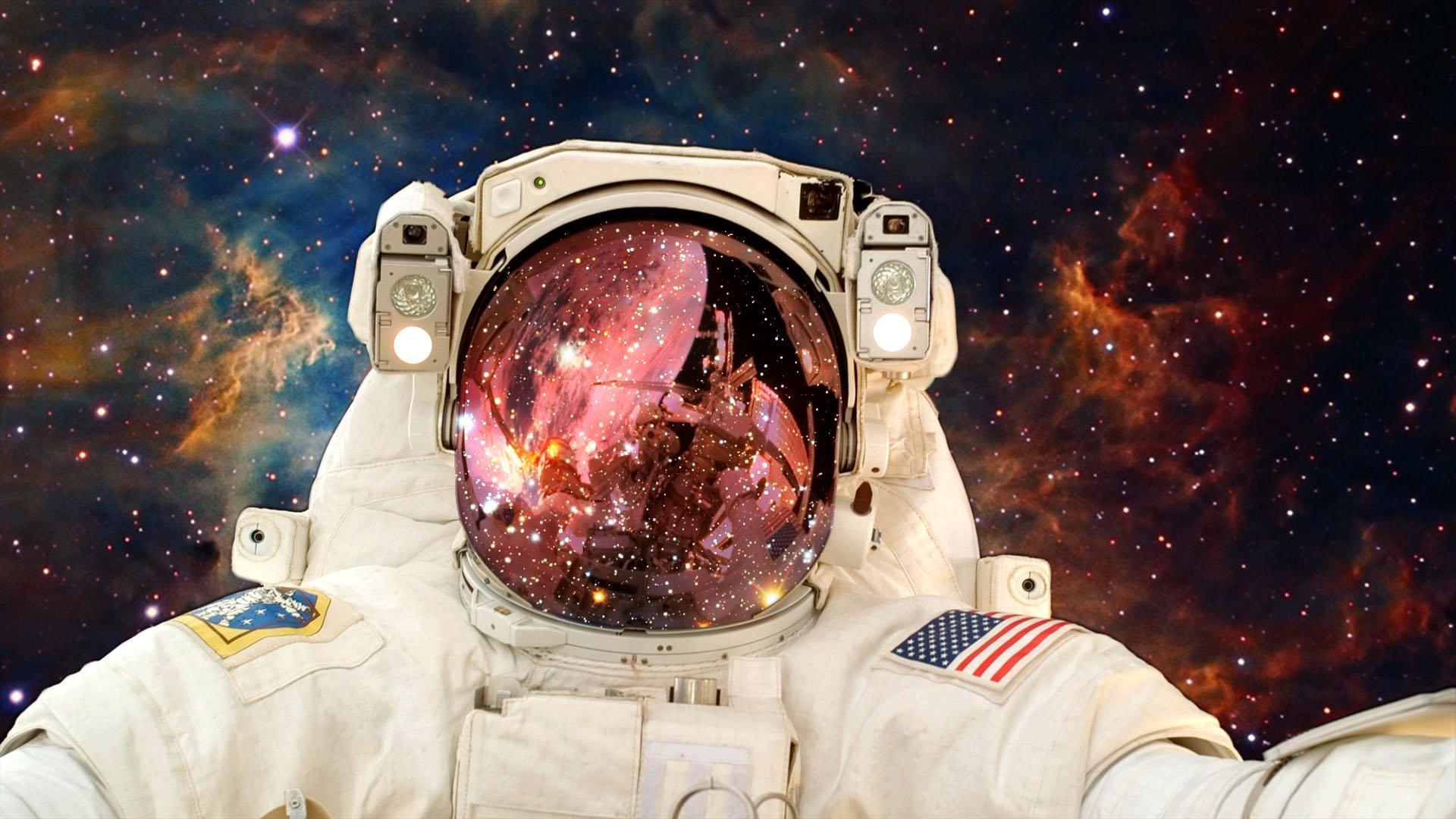 фото космонавта в космосе на рабочий стол того