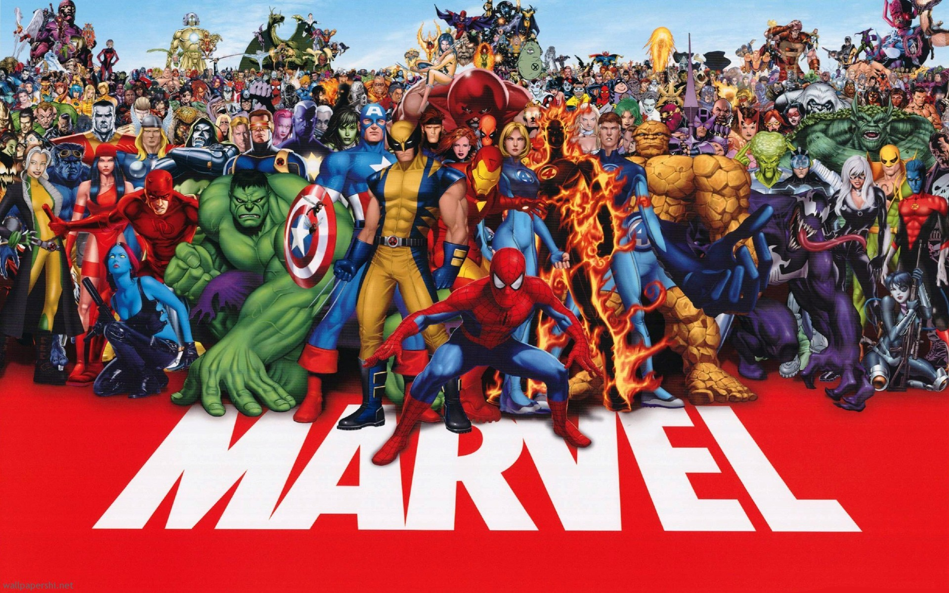 Free Superhero Wallpapers For Desktop: Marvel Wallpapers And Desktop Backgrounds Up To 8K