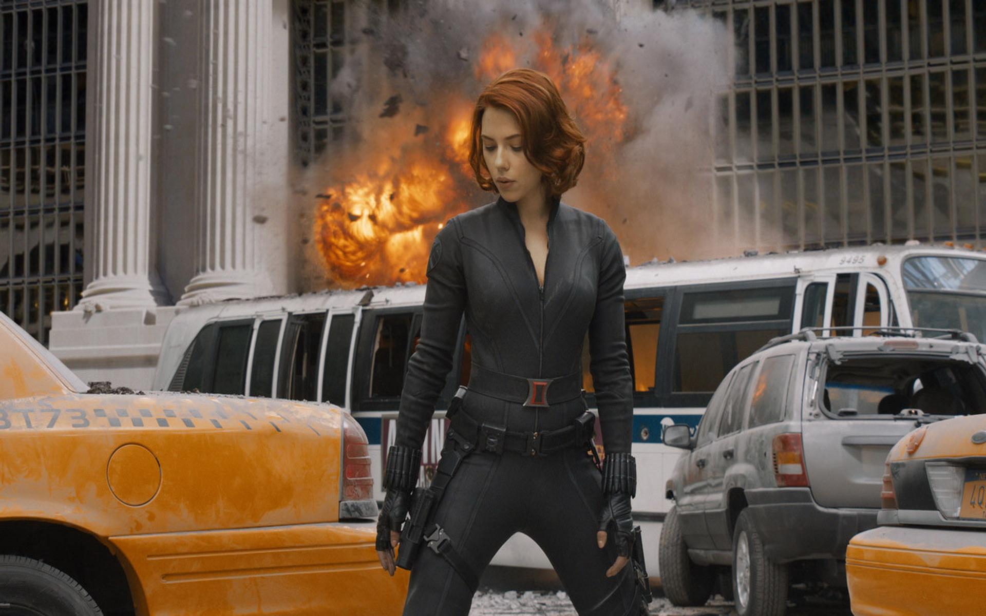 Black Widow Scarlett Johansson Avengers Hd Wallpaper