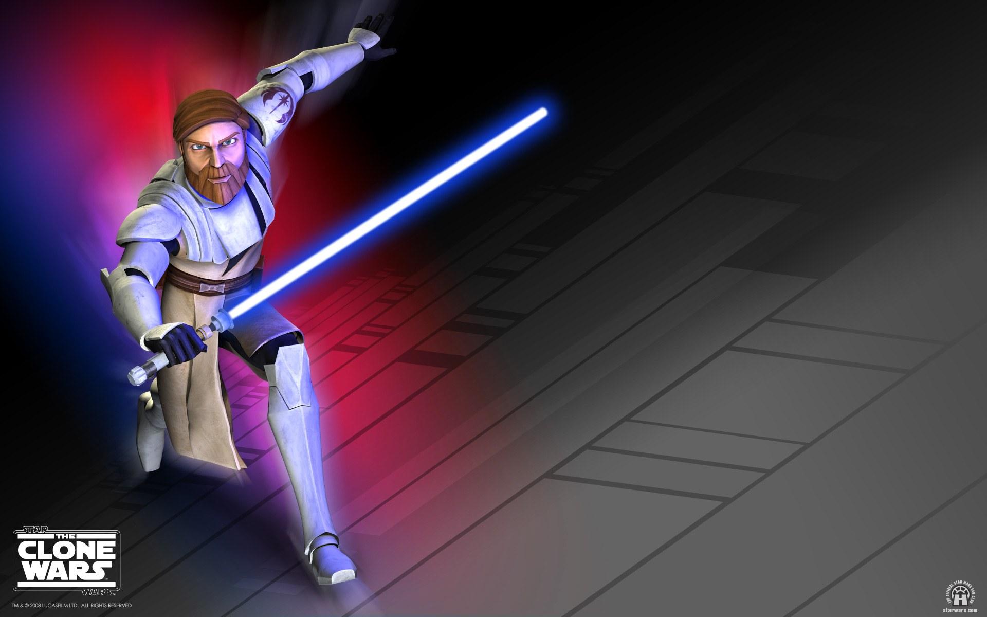 Star Wars The Clone Wars Obi Wan Kenobi Hd Wallpaper