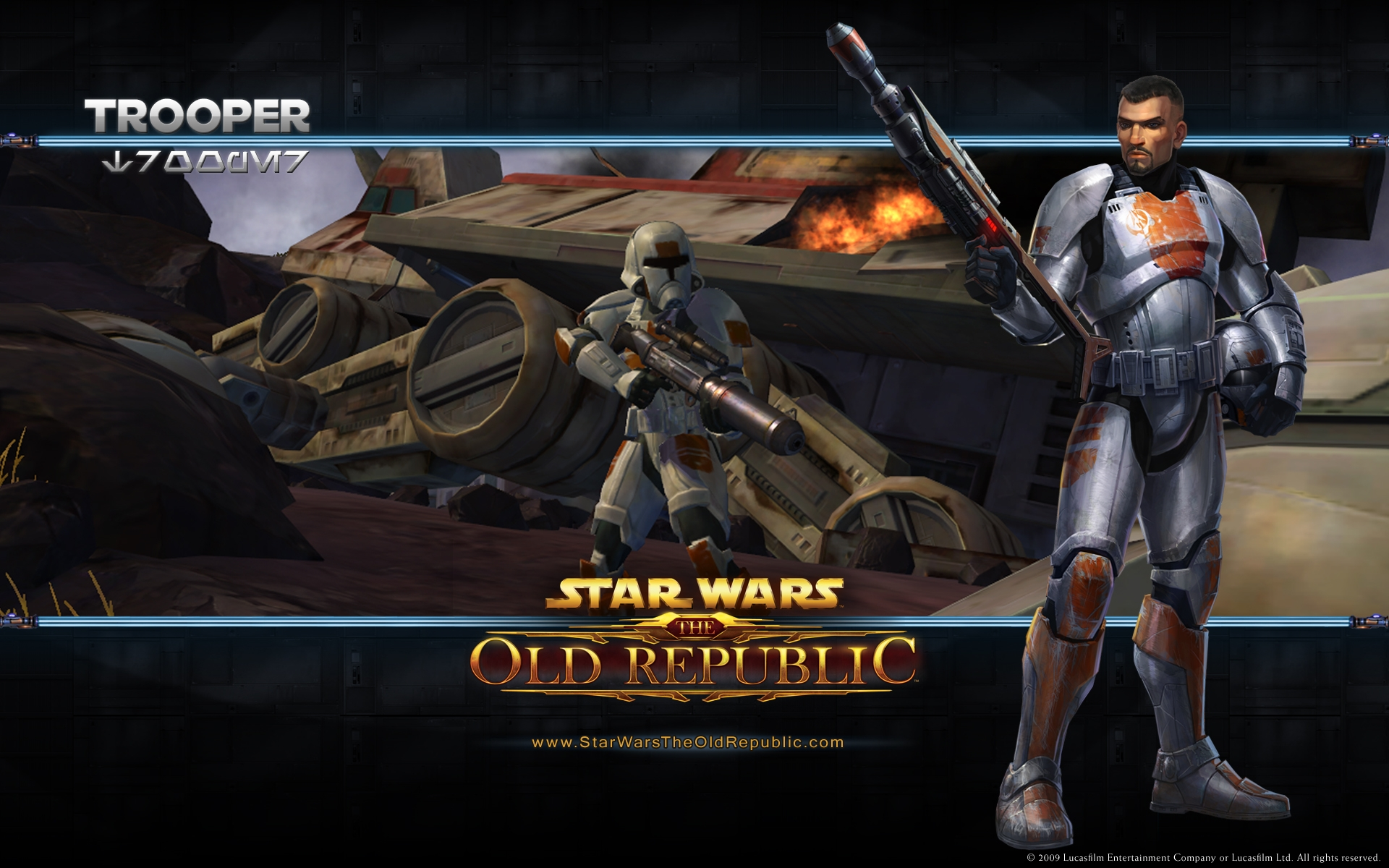 Star Wars The Old Republic Trooper Hd Wallpaper