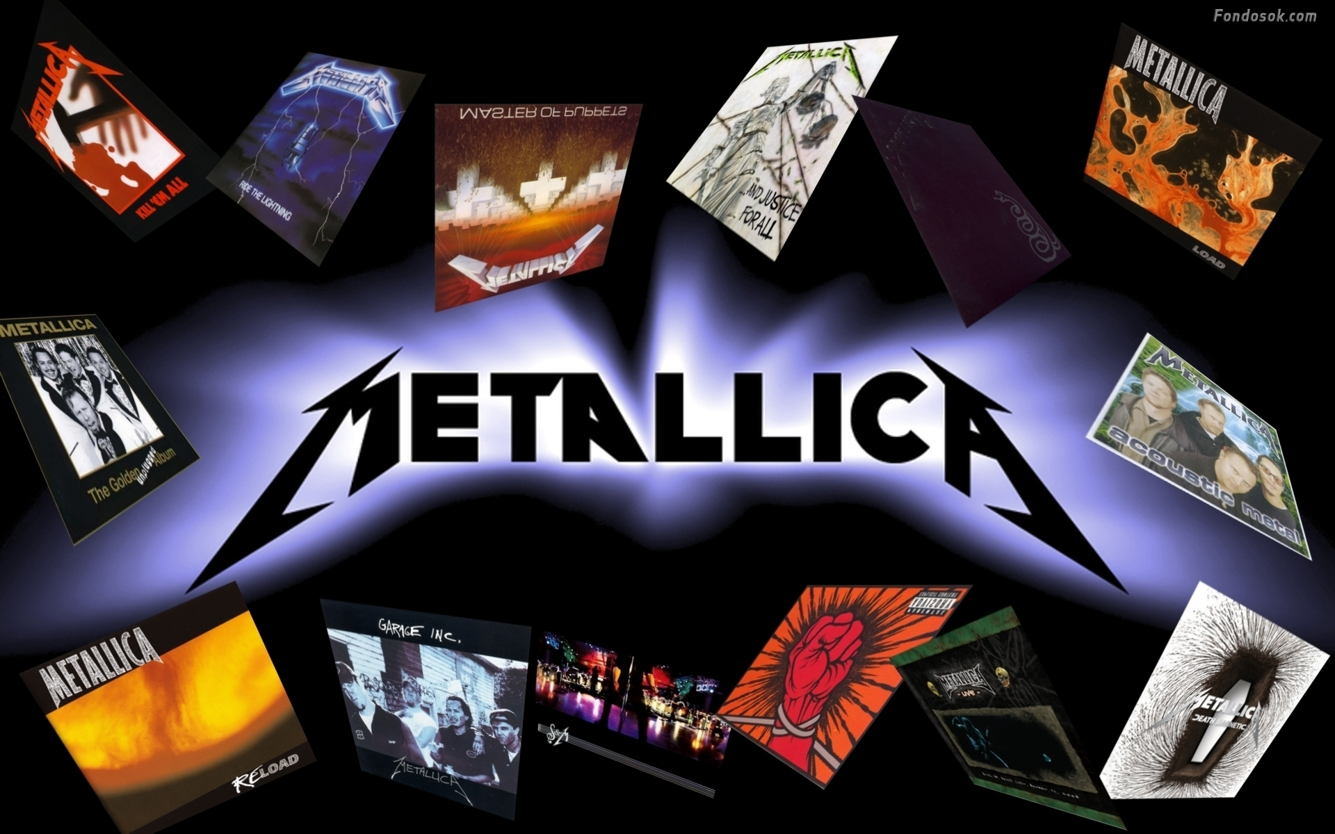 metallica albums hd wallpaper. Black Bedroom Furniture Sets. Home Design Ideas