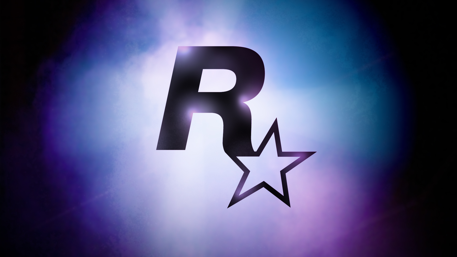rockstar games logo hd wallpaper