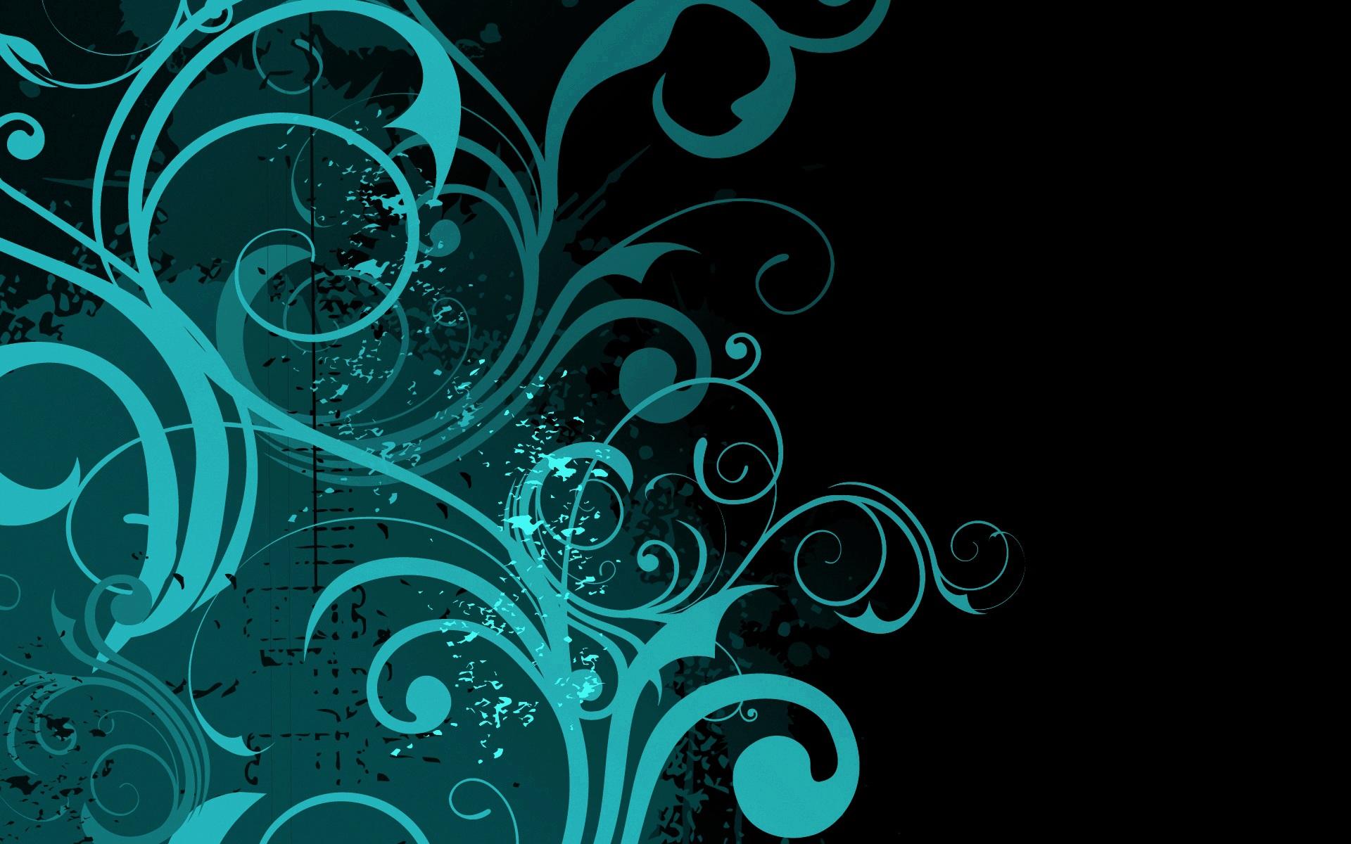 Abstract Floral Desktop Hd Hd Wallpaper