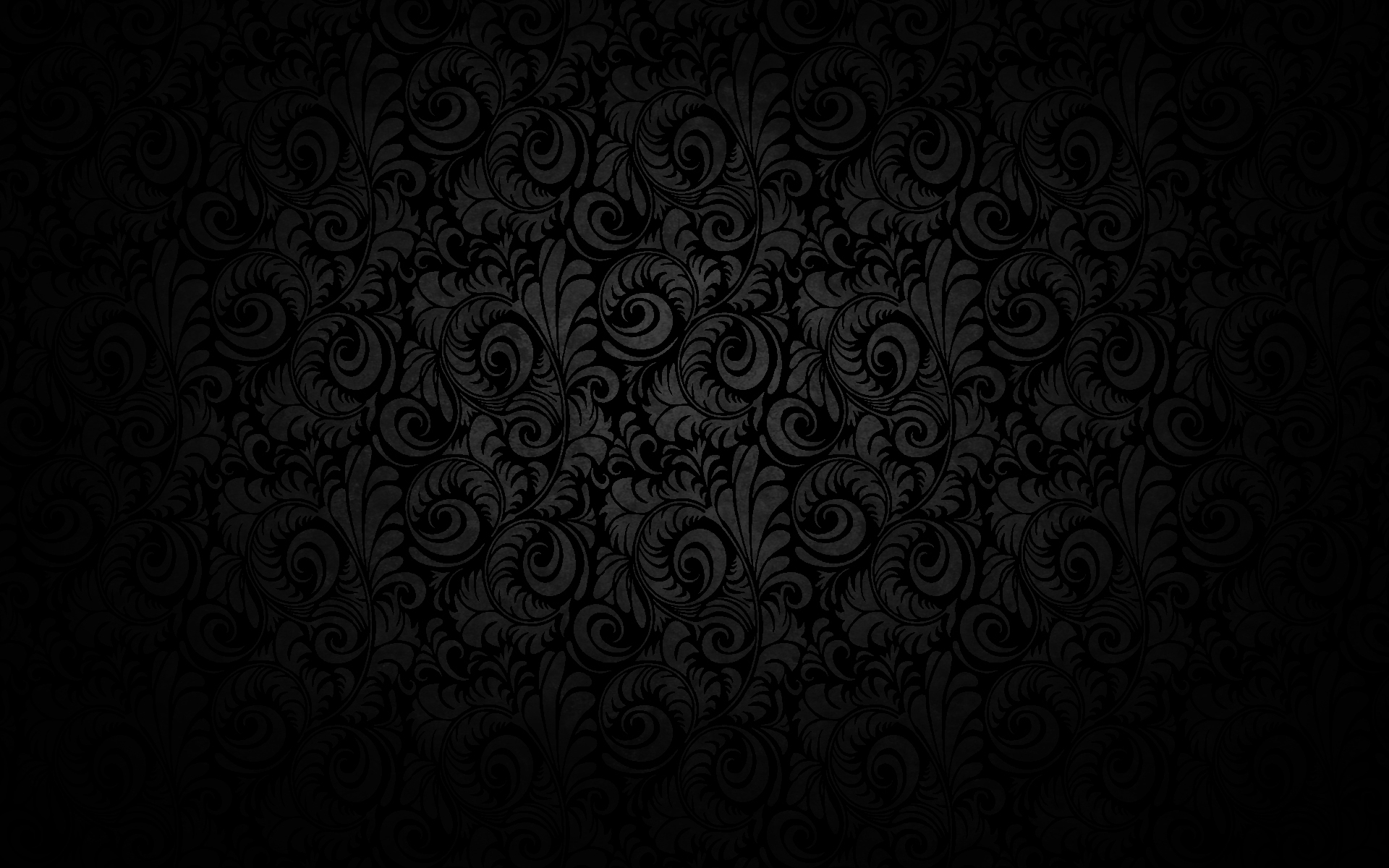 Textures S Black Floral Texture Pattern Hd Wallpaper