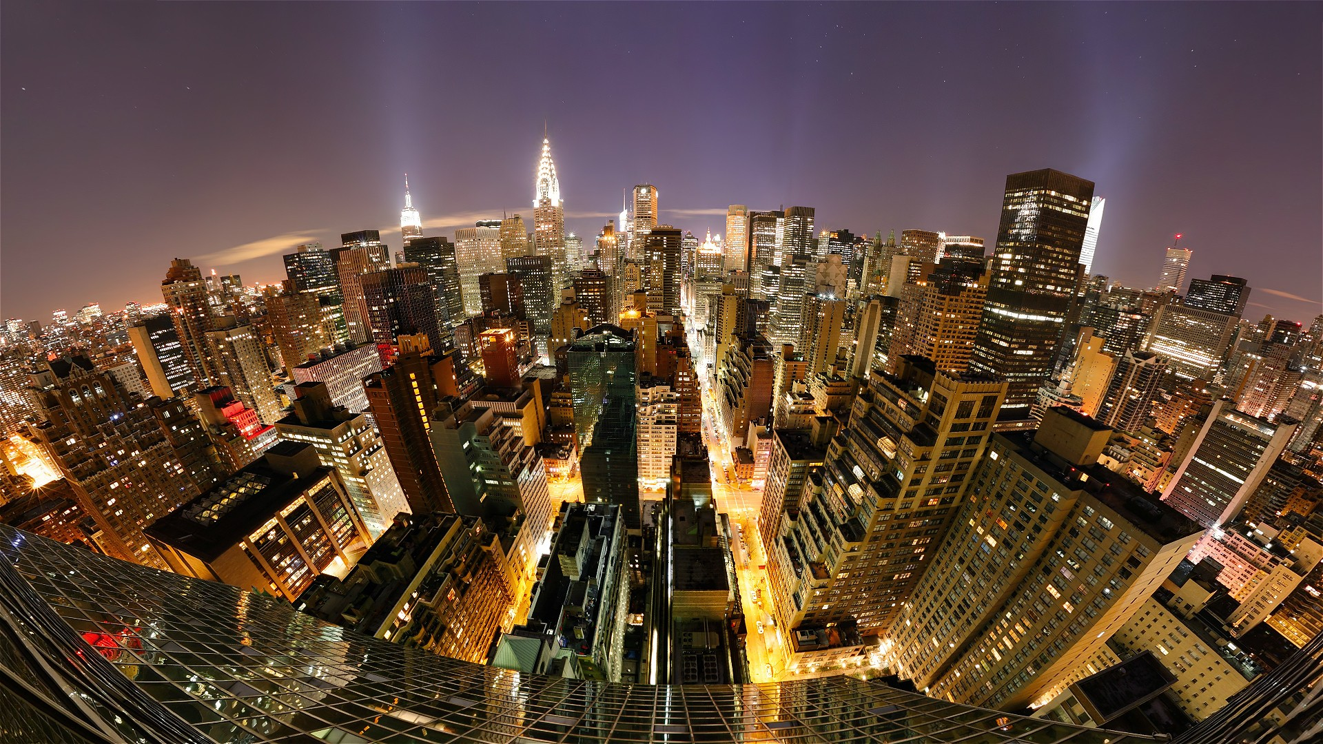 New York City Night Hd Wallpaper