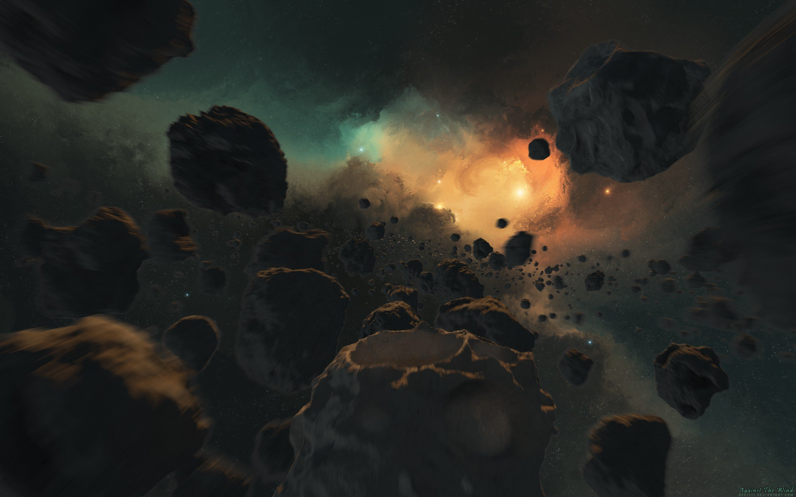 asteroid field hd - photo #18