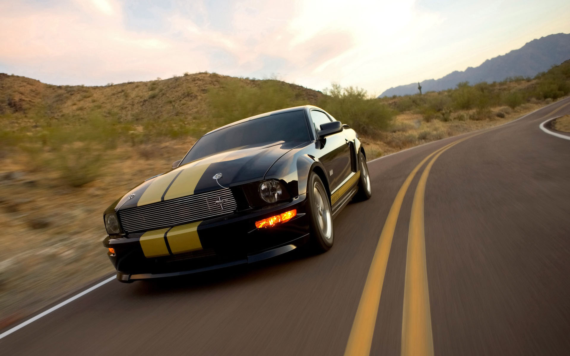 Ford Mustang Shelby GT H wallpaper