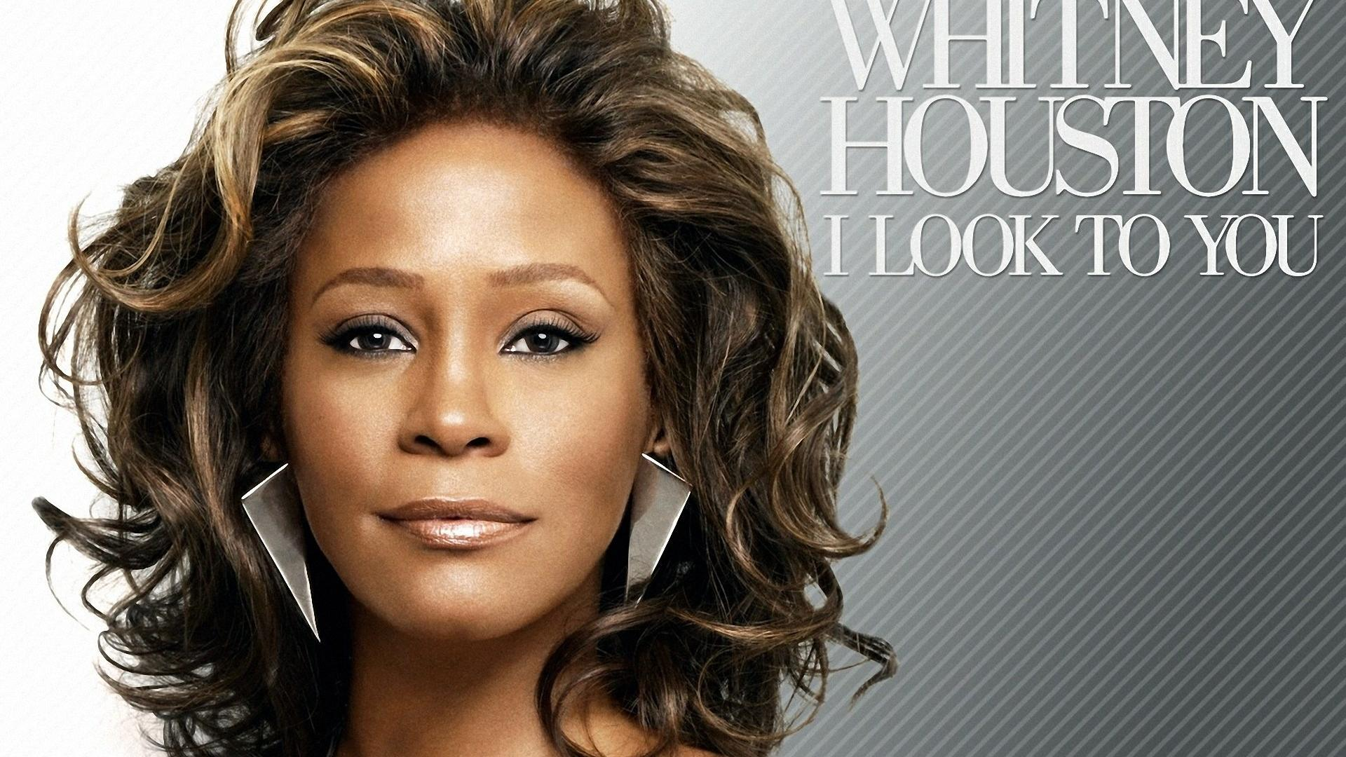 Whitney Houston I Look To You Album wallpaper