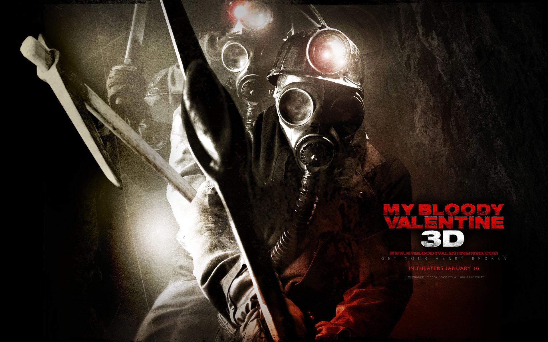 My Bloody Valentine 3d S Horror Hd Wallpaper