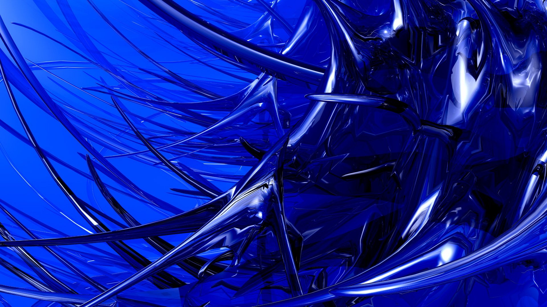 Dark Blue Abstract Hd Wallpaper