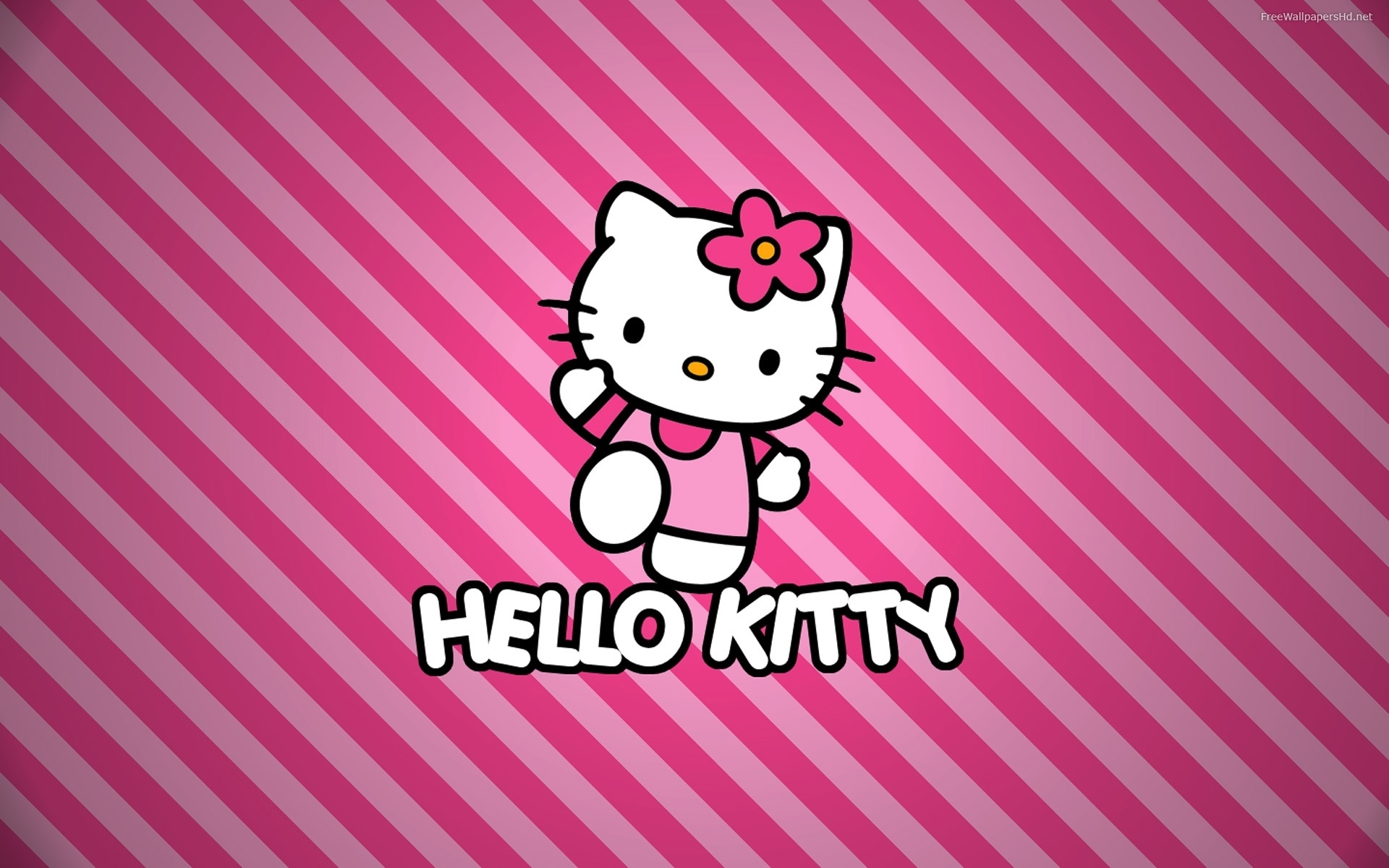 Hello Kitty Pink Hd Wallpaper